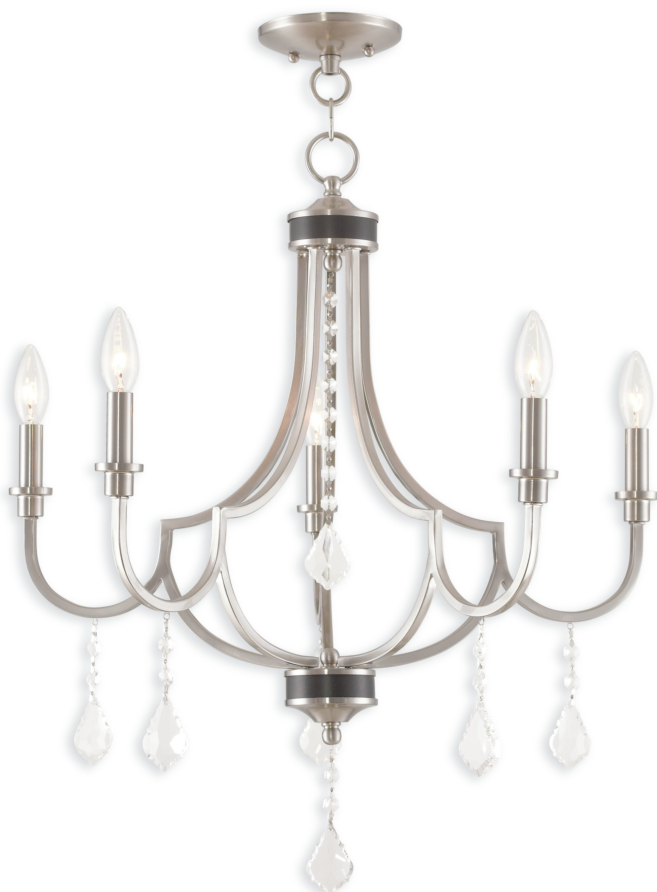 Current Florentina 5 Light Candle Style Chandeliers In Crayford 5 Light Candle Style Chandelier (View 7 of 25)