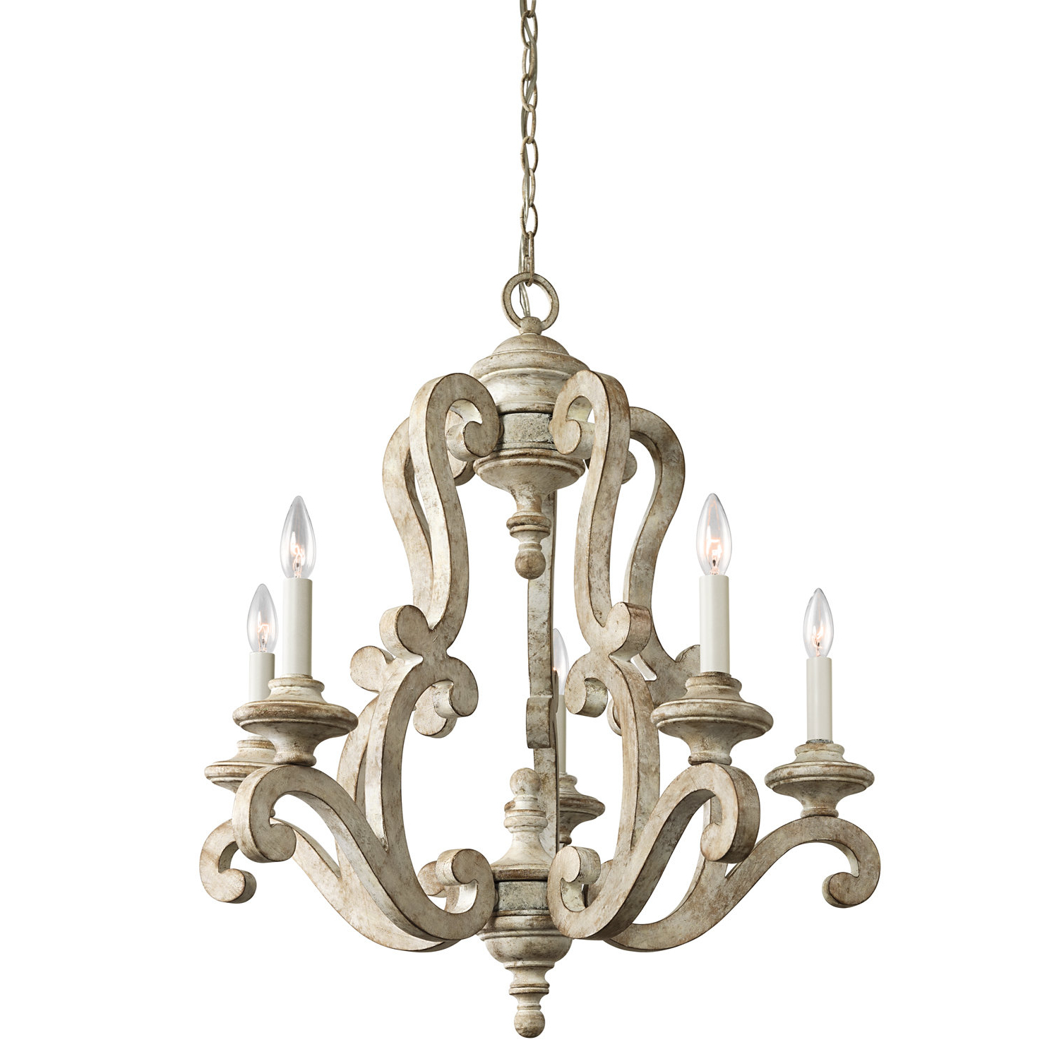 Current Guglielmo 5 Light Candle Style Chandelier Within Shaylee 5 Light Candle Style Chandeliers (View 2 of 25)