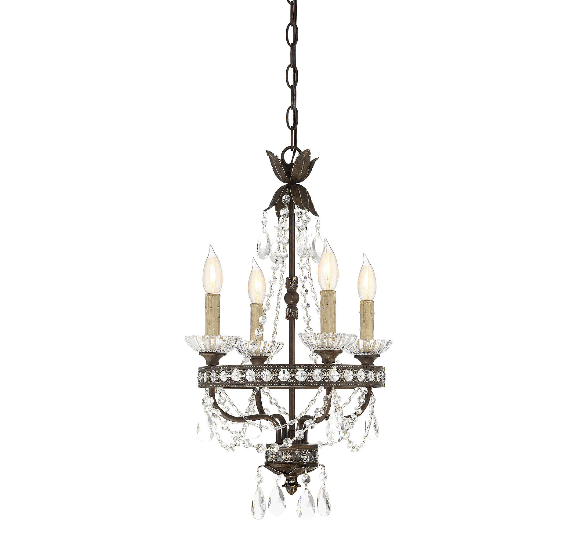 Current Hesse 5 Light Candle Style Chandeliers Pertaining To Lefler 4 Light Candle Style Chandelier (View 8 of 25)