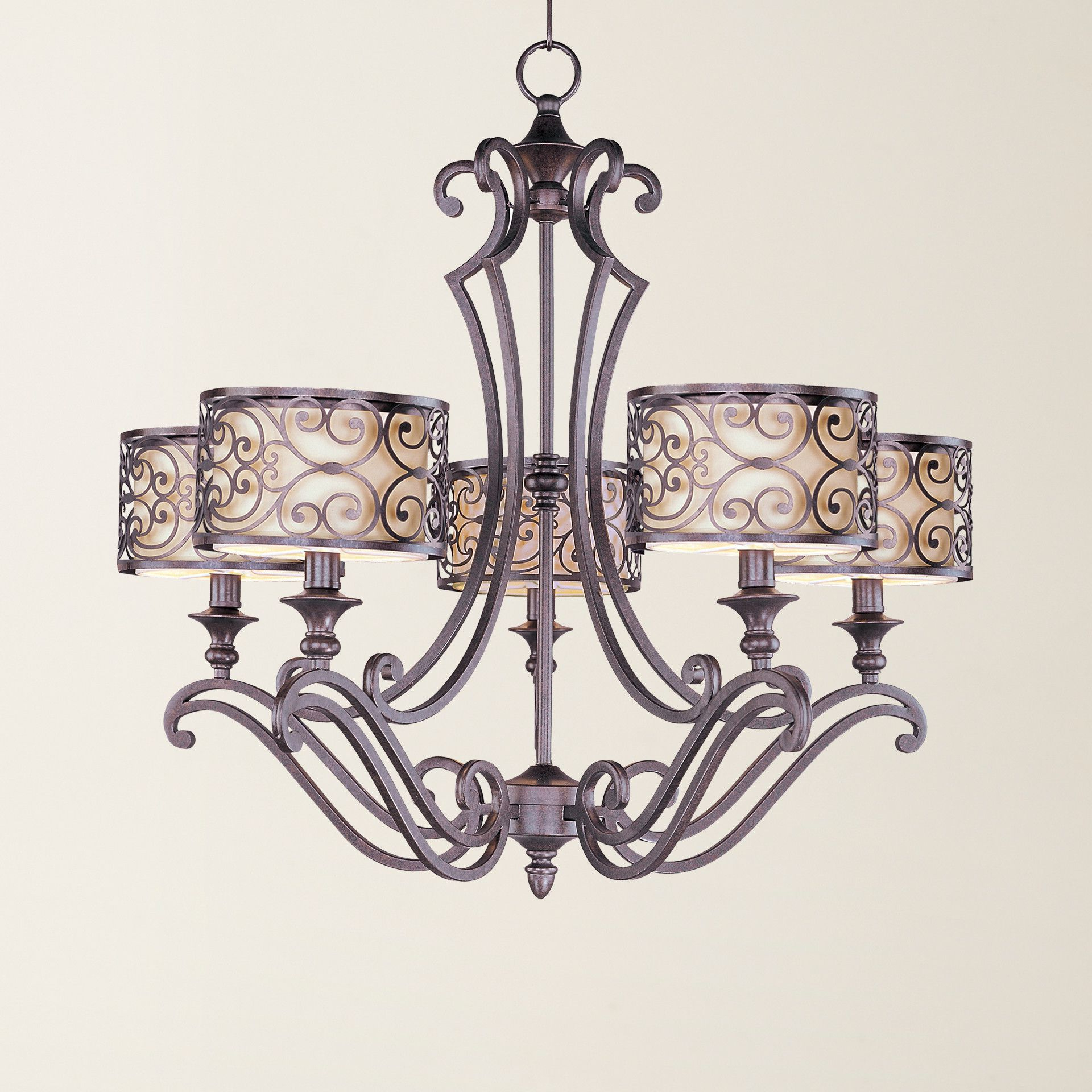 Current Nicole 5 Light Chandelier (View 17 of 25)
