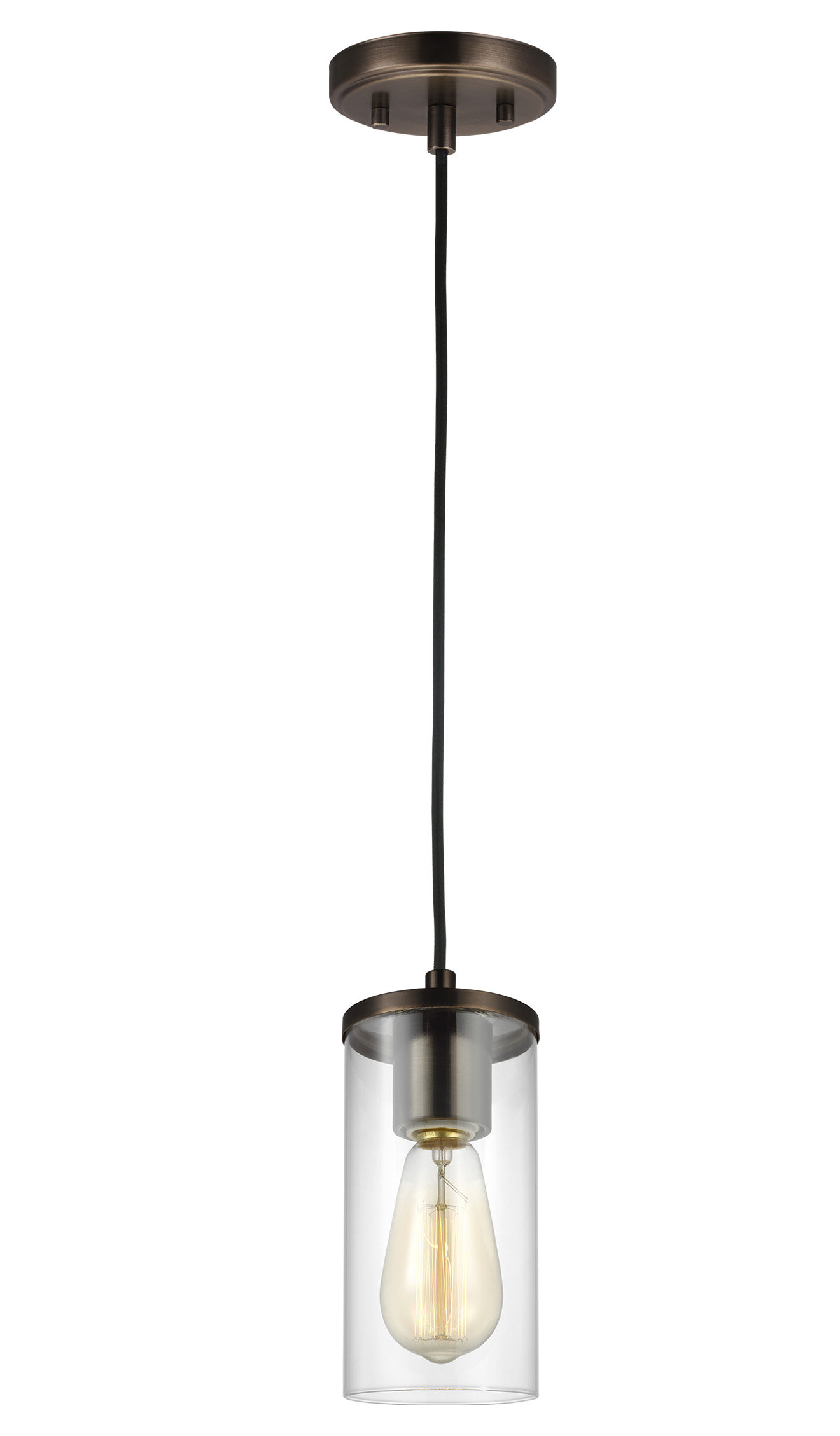 Current Tallapoosa 1 Light Single Cylinder Pendant Intended For Jayce 1 Light Cylinder Pendants (View 3 of 25)