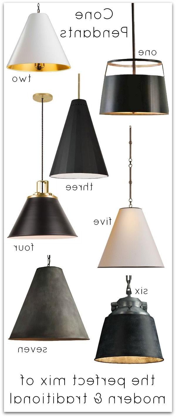 Общие Советы Pertaining To Nadeau 1 Light Single Cone Pendants (View 10 of 25)