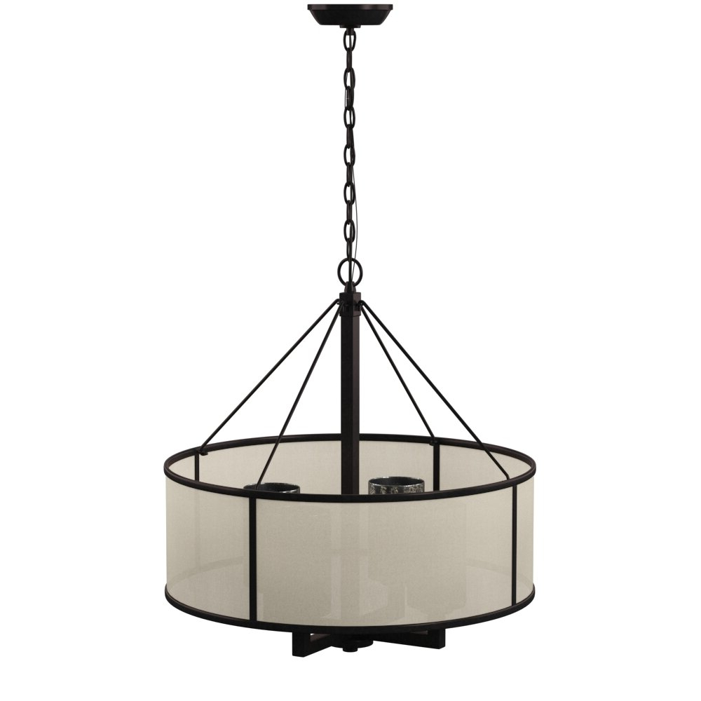 Dailey 4 Light Drum Chandelier & Reviews (View 24 of 25)