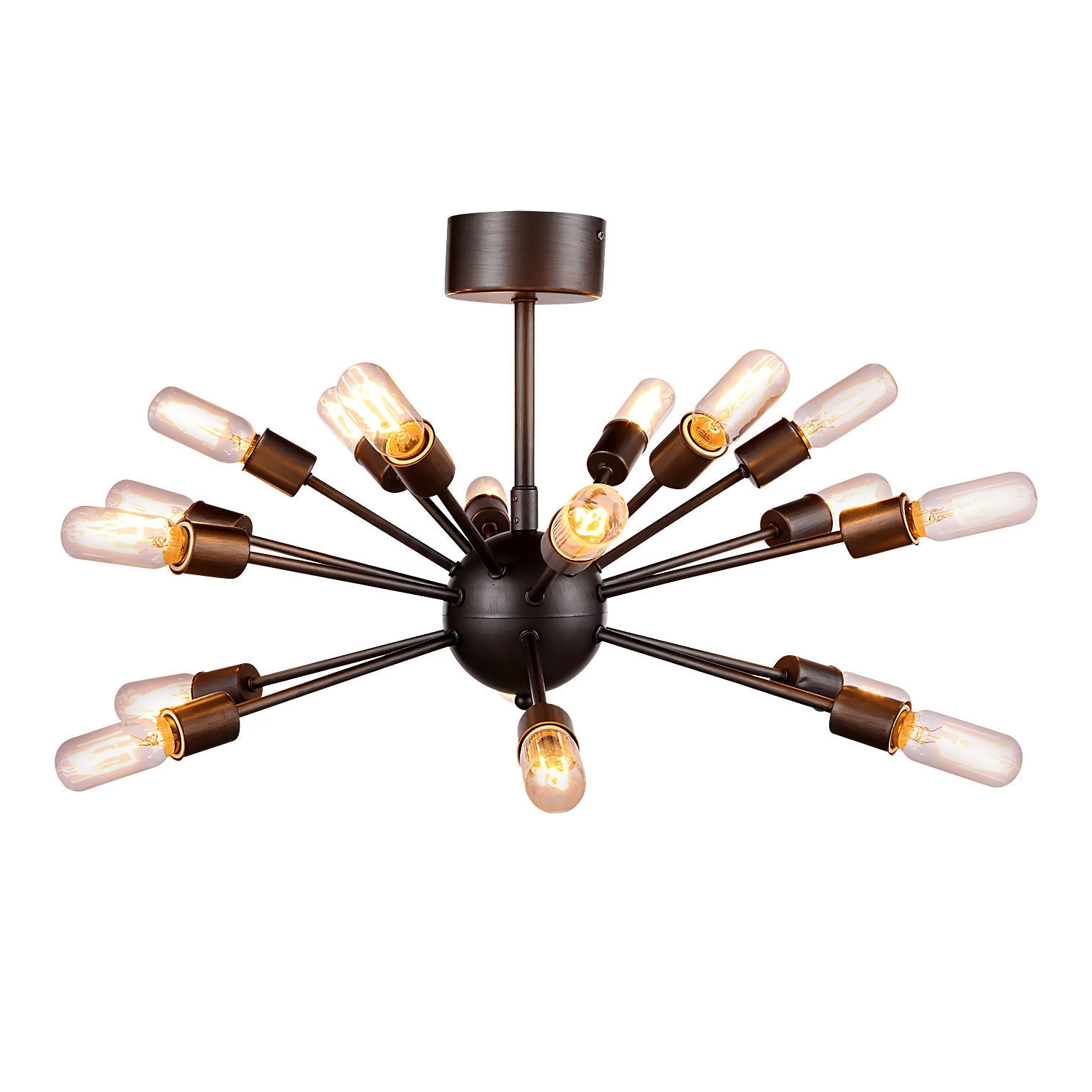 Defreitas 18 Light Sputnik Chandeliers Regarding Popular Groveland 18 Light Sputnik Chandelier (Gallery 15 of 25)