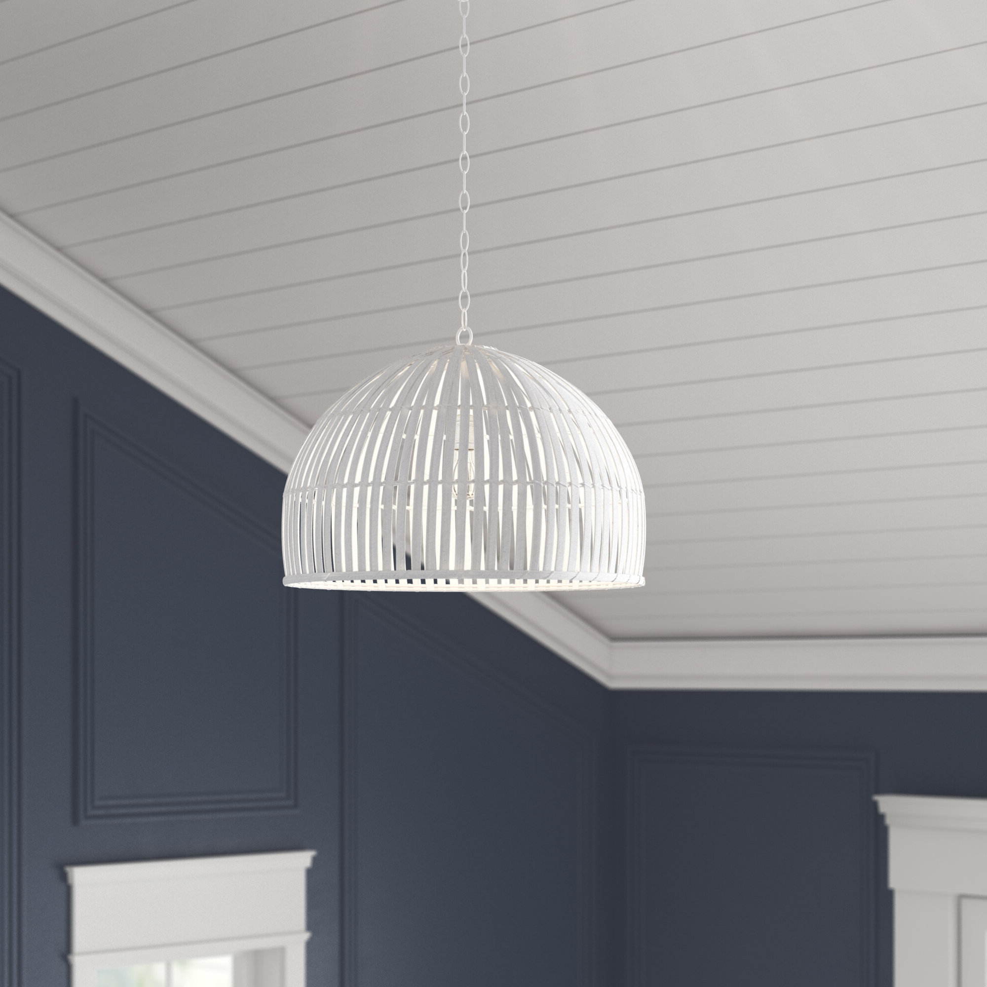 Delmore 1 Light Dome Pendant With Newest Abernathy 1 Light Dome Pendants (View 10 of 25)