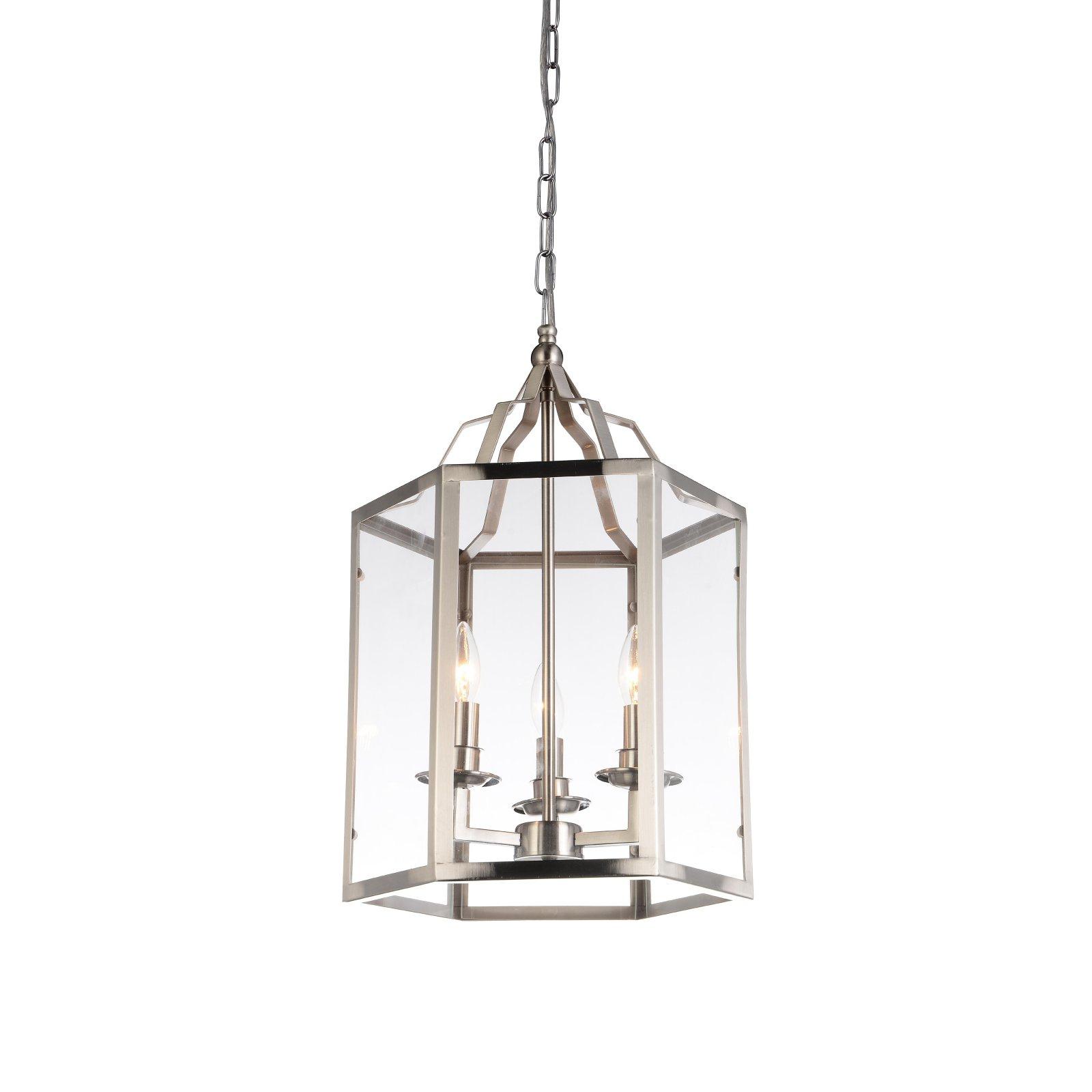 Destrey 3-Light Lantern Square/rectangle Pendants regarding Well-known Cwi Lighting Desire Medium Pendant