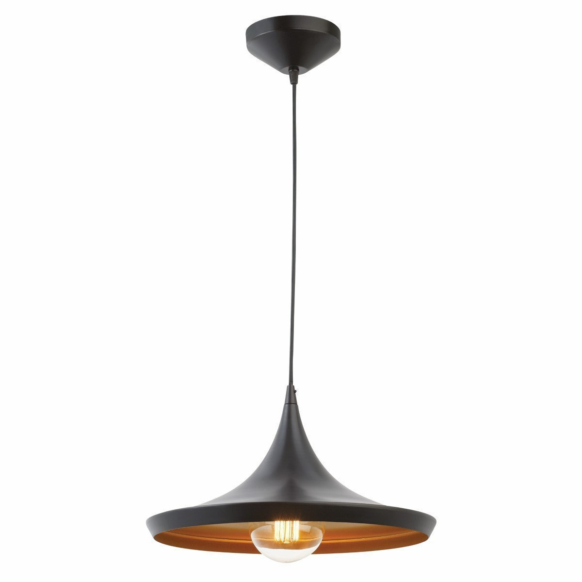 Details About Pendant Light Led Ceiling Lights Lamp Shade Industrial Cafe  Lighting Kitchen Bar With Famous Akash Industrial Vintage 1 Light Geometric Pendants (View 8 of 25)