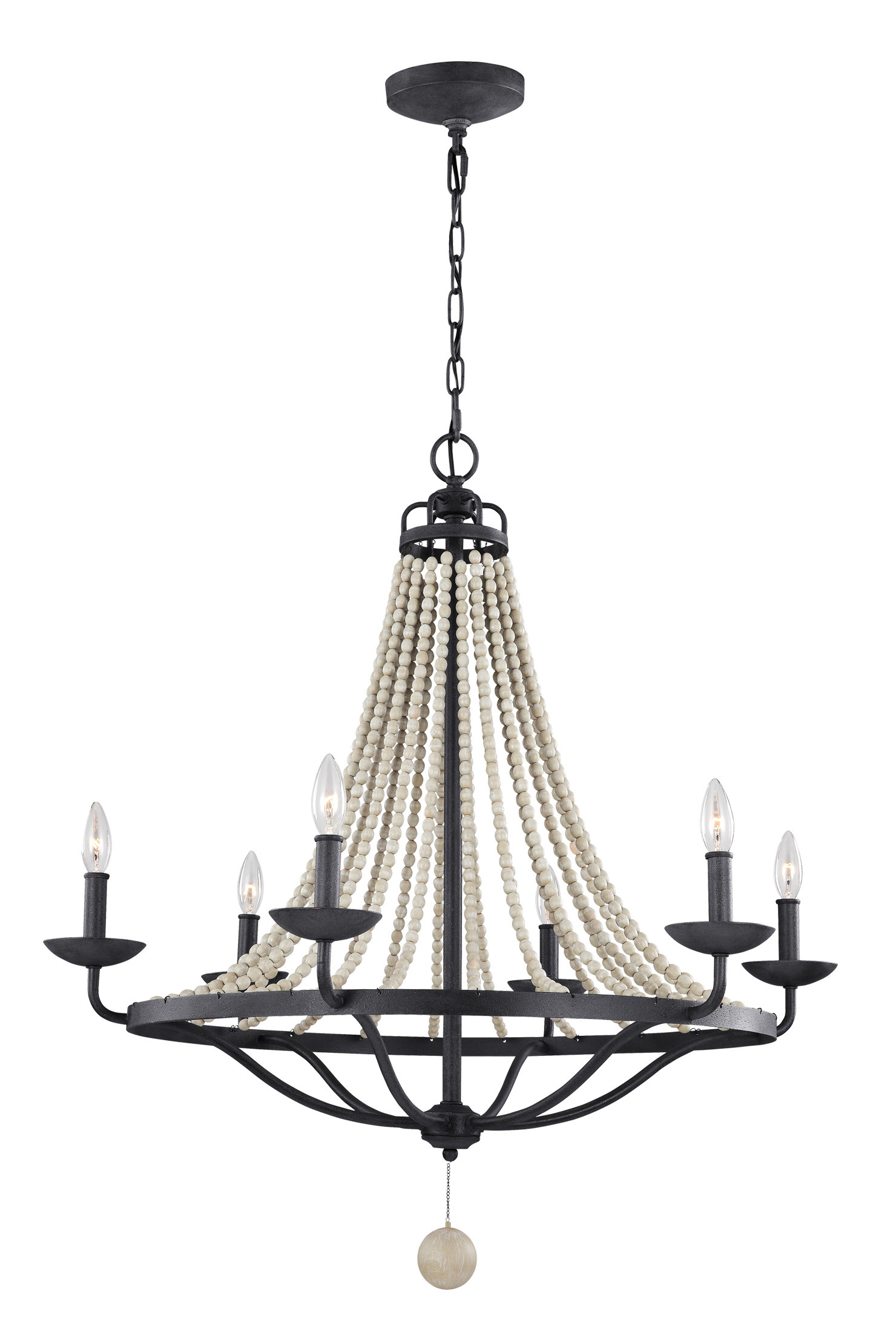 Diaz 6 Light Candle Style Chandeliers Intended For Favorite Granger 6 Light Empire Chandelier (View 23 of 25)