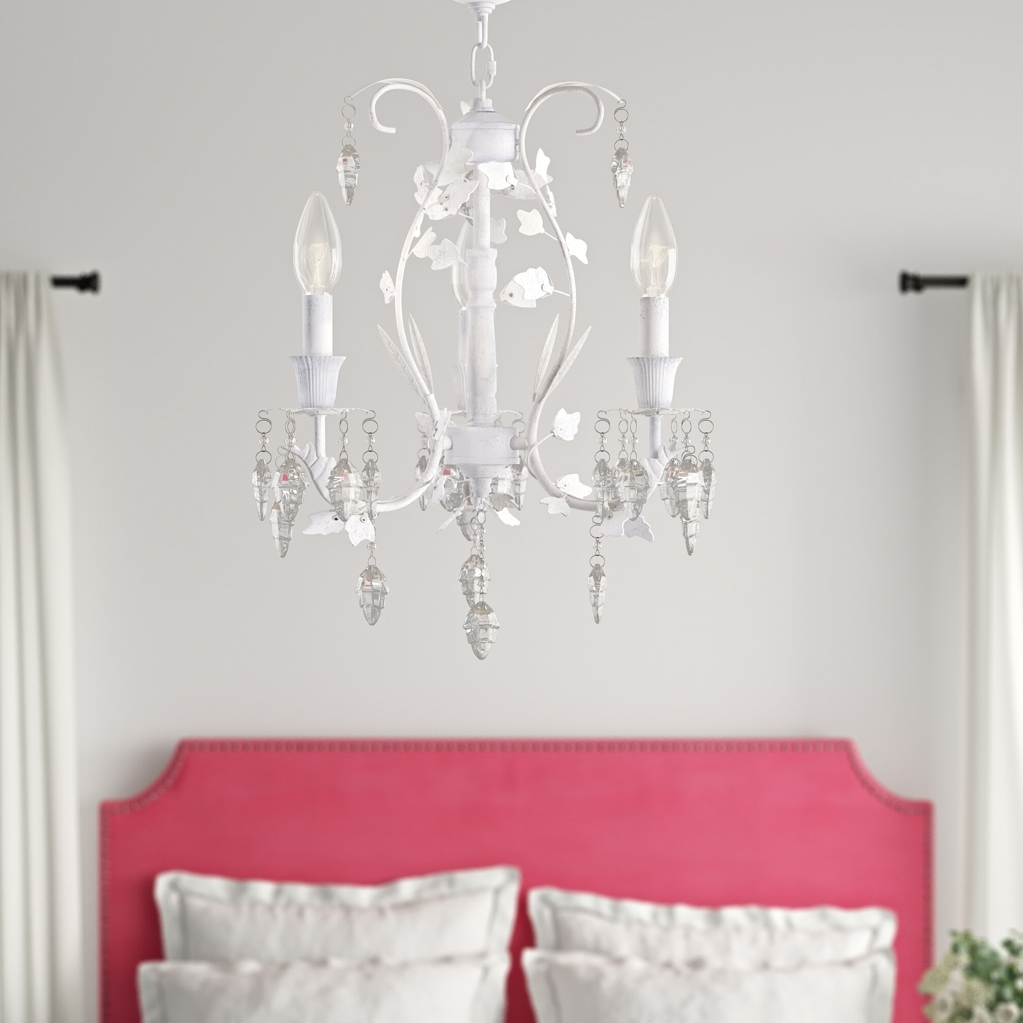 Dilley 1-Light Unique / Statement Geometric Pendants within Trendy Dexter 3-Light Candle Style Chandelier