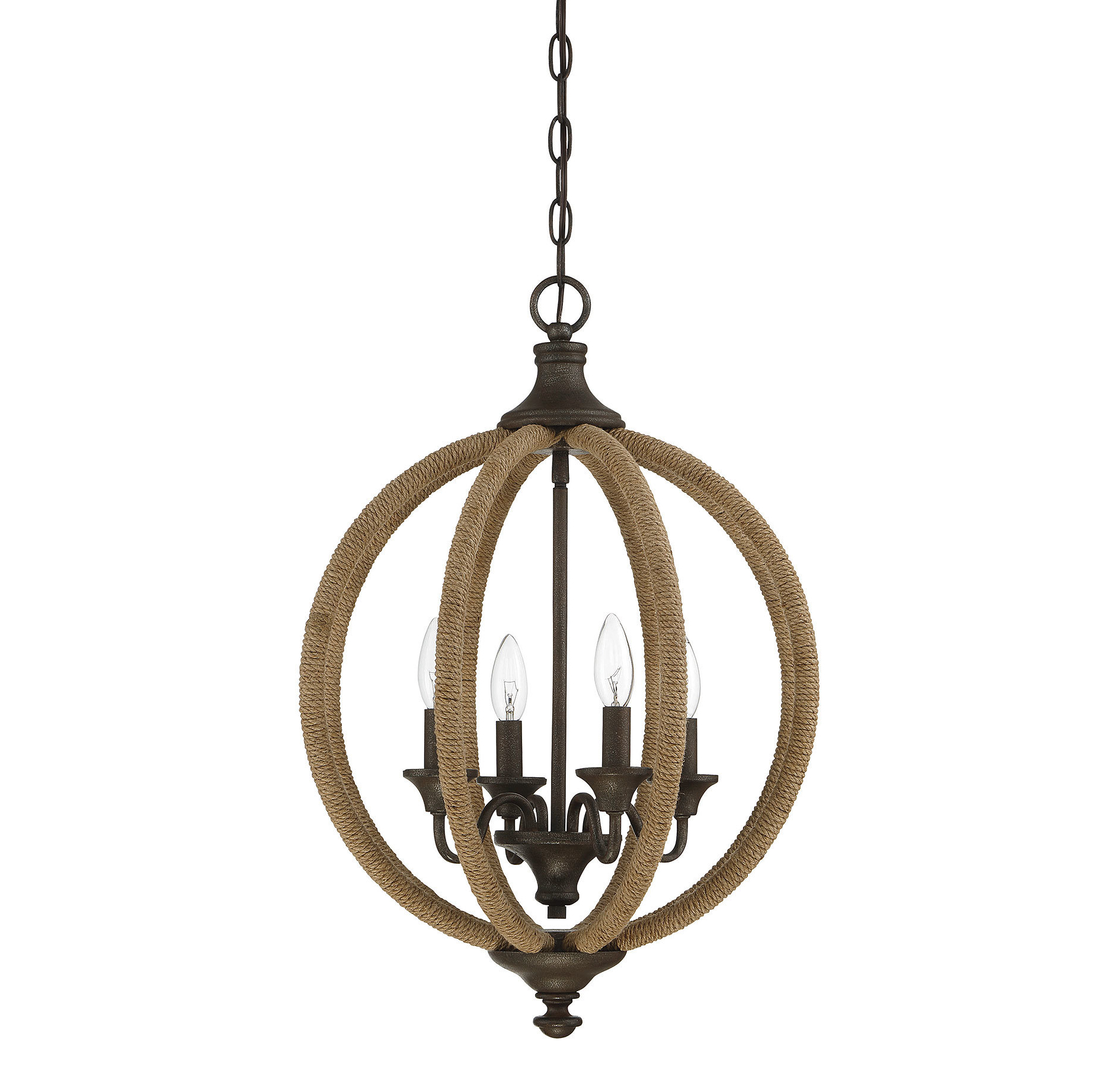 Donna 4-Light Globe Chandeliers with Widely used Lynda 4-Light Globe Chandelier
