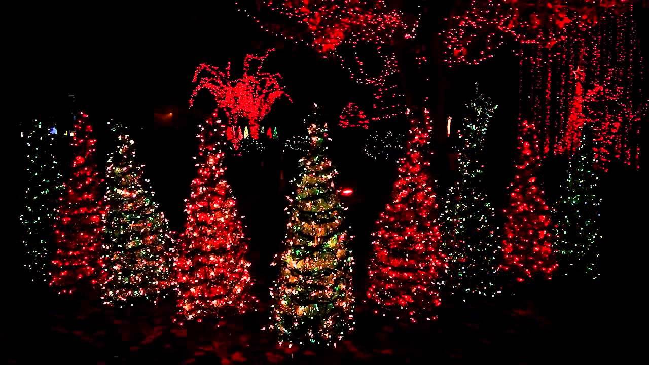Dr. Law's Leaping Lights 2013 Christmas Display, Warner Robins, Ga in Well known Warner Robins 3-Light Lantern Pendants