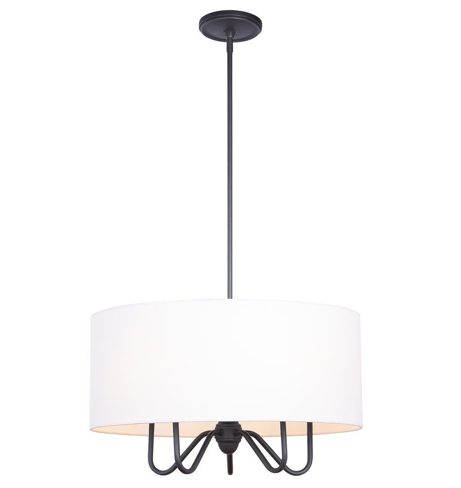 Drum Chandelier pertaining to Burton 5-Light Drum Chandeliers