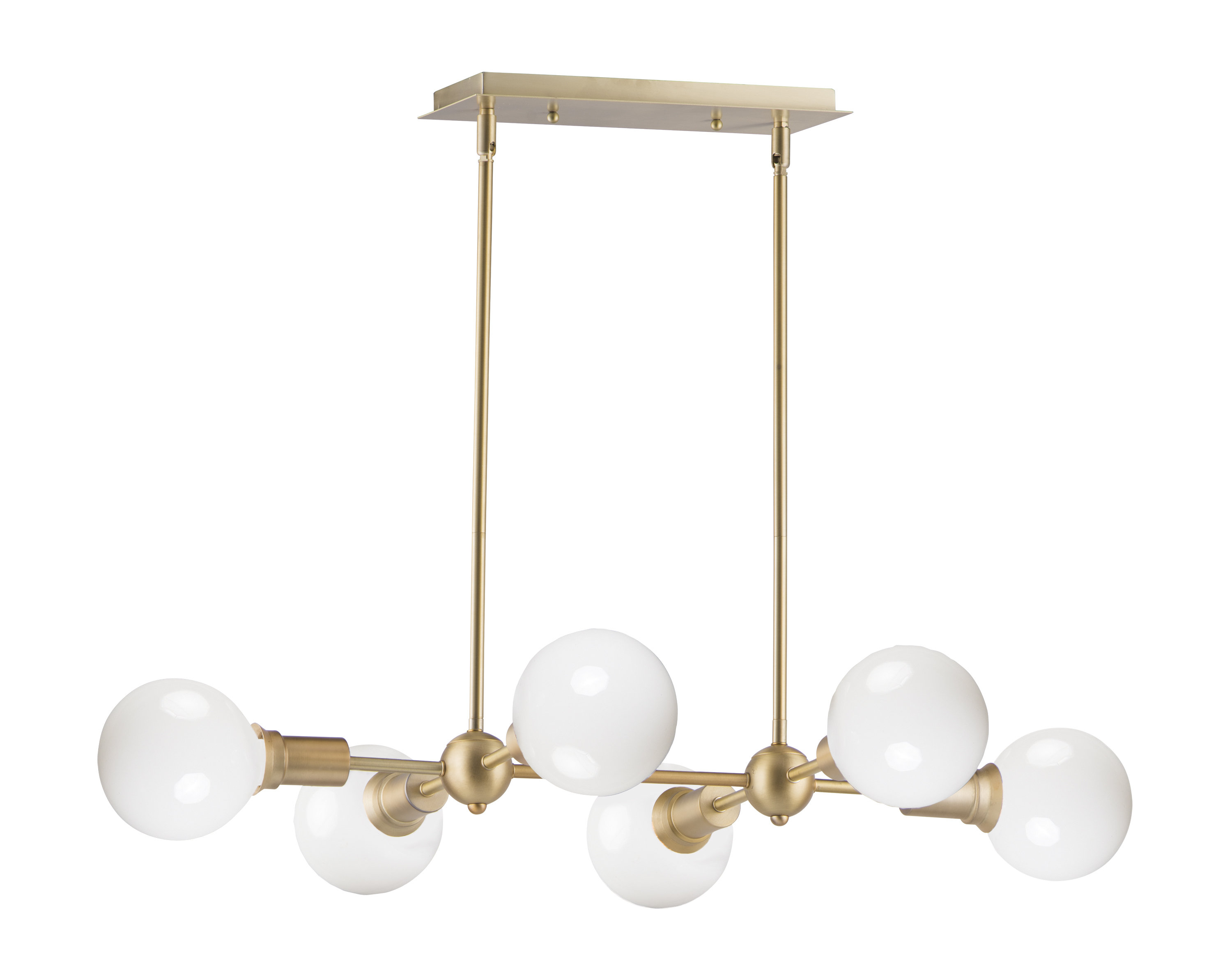 Eladia 6 Light Sputnik Chandeliers In Famous Godbey 6 Light Sputnik Chandelier (View 7 of 25)