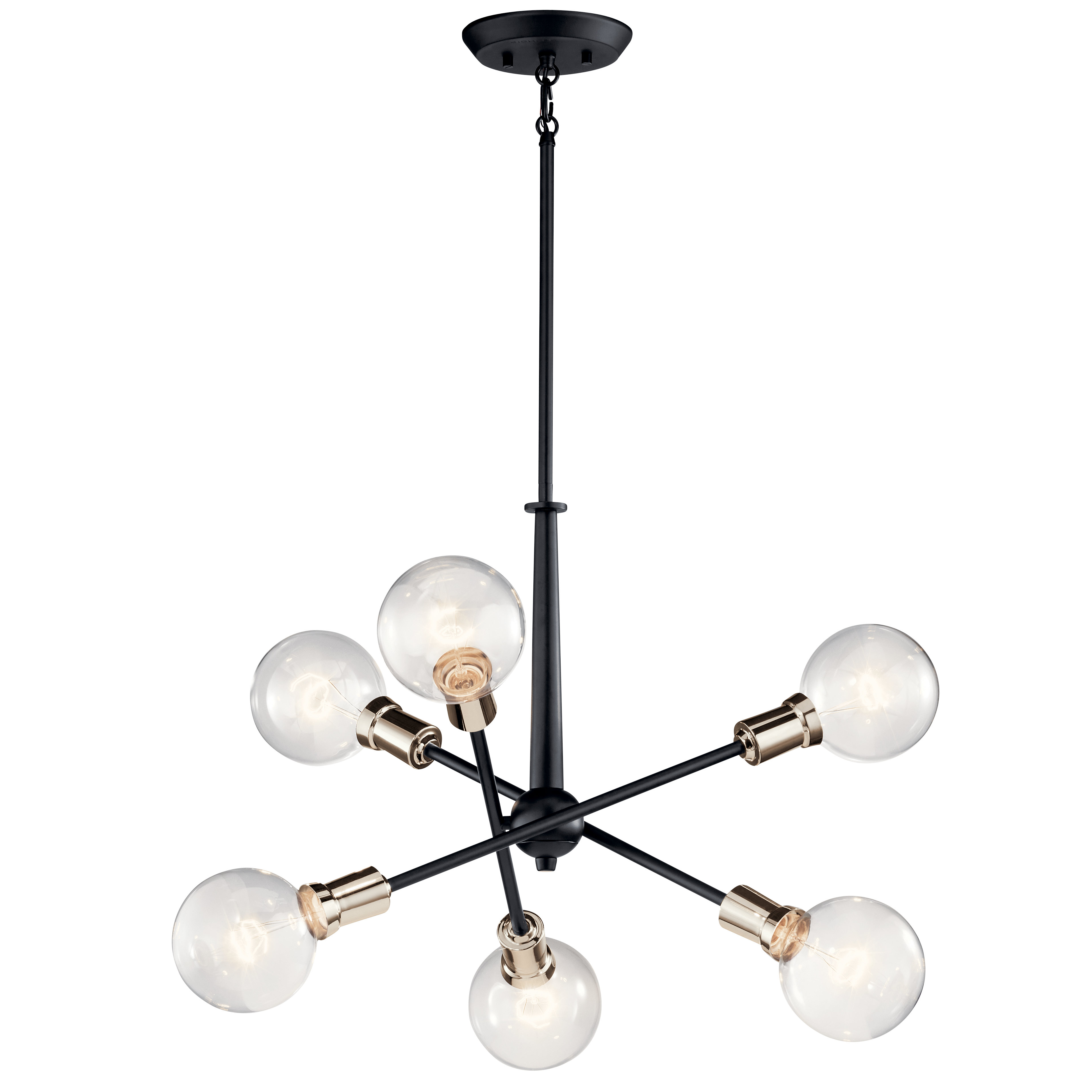 Eladia 6 Light Sputnik Chandeliers In Most Recently Released Lalonde 6 Light Sputnik Chandelier (View 8 of 25)