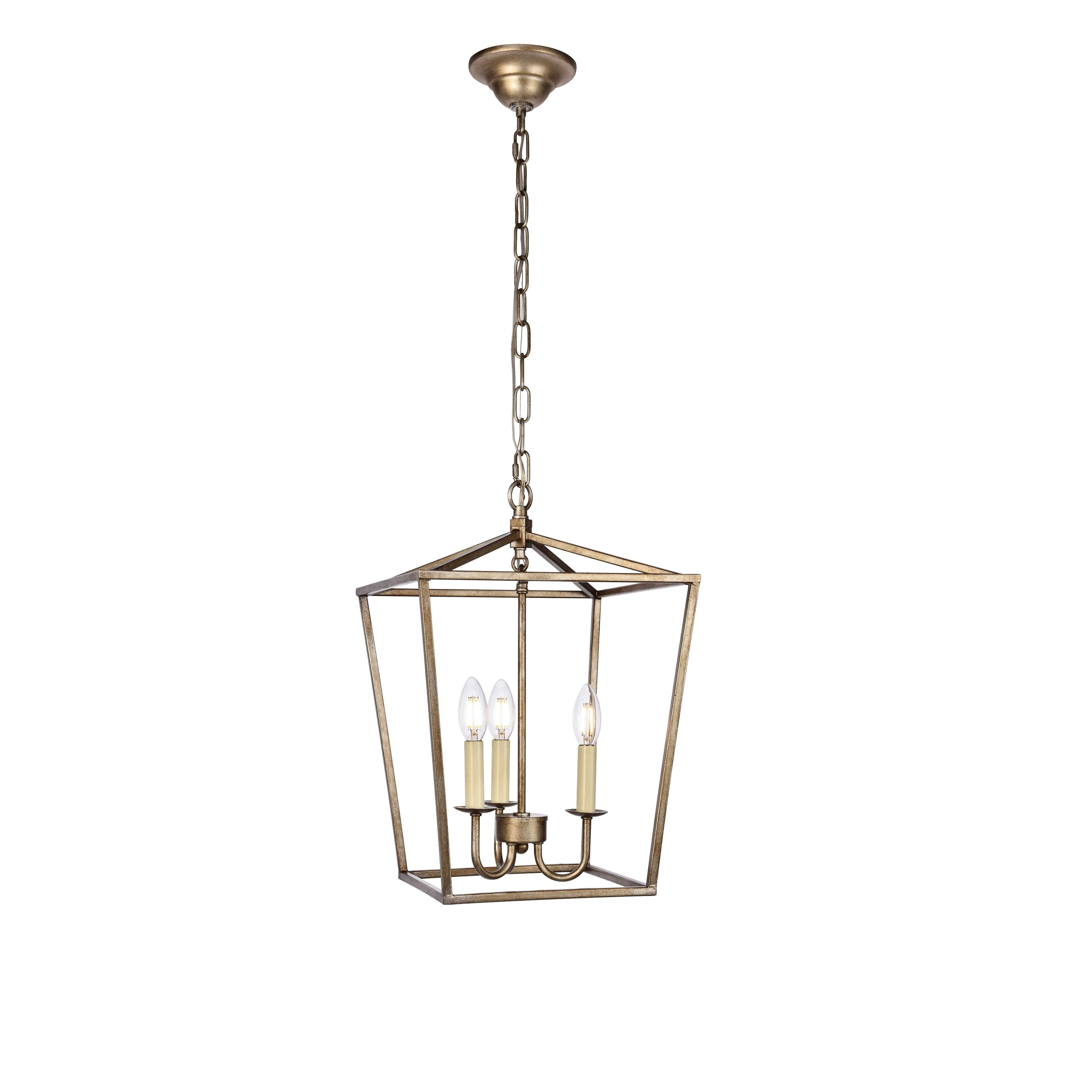 Elegant Maddox Collection Pendant D12.5 H18.25 Lt:3 Vintage within Well known Finnick 3-Light Lantern Pendants