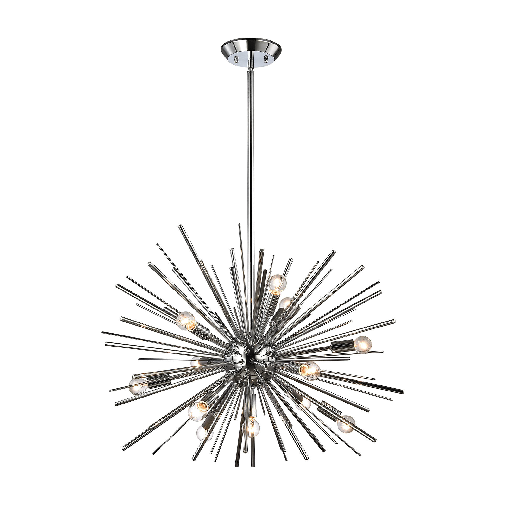 Elinore 12 Light Sputnik Chandelier Intended For Most Up To Date Nelly 12 Light Sputnik Chandeliers (View 7 of 25)