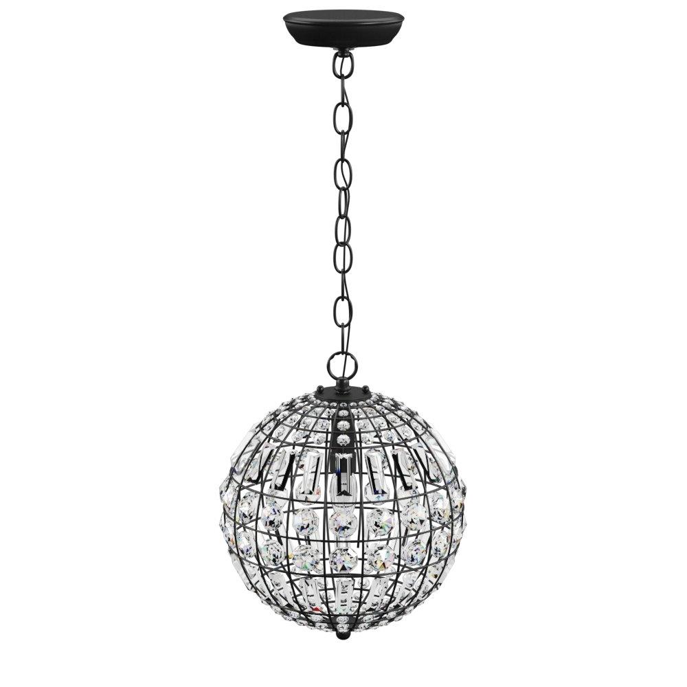 Elivra 1 Light Single Globe Pendant Pertaining To Recent Spokane 1 Light Single Urn Pendants (View 3 of 25)