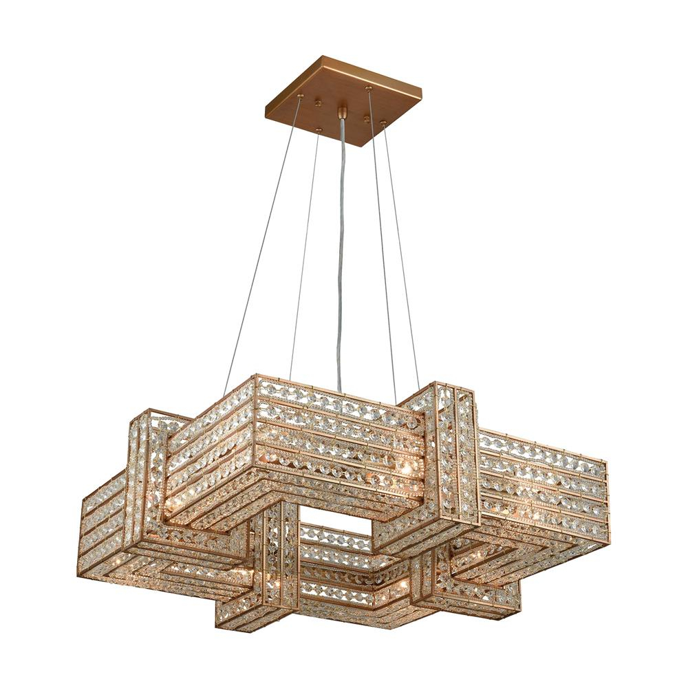 Elk Lighting - Goinglighting with 2020 Armande 4-Light Lantern Drum Pendants