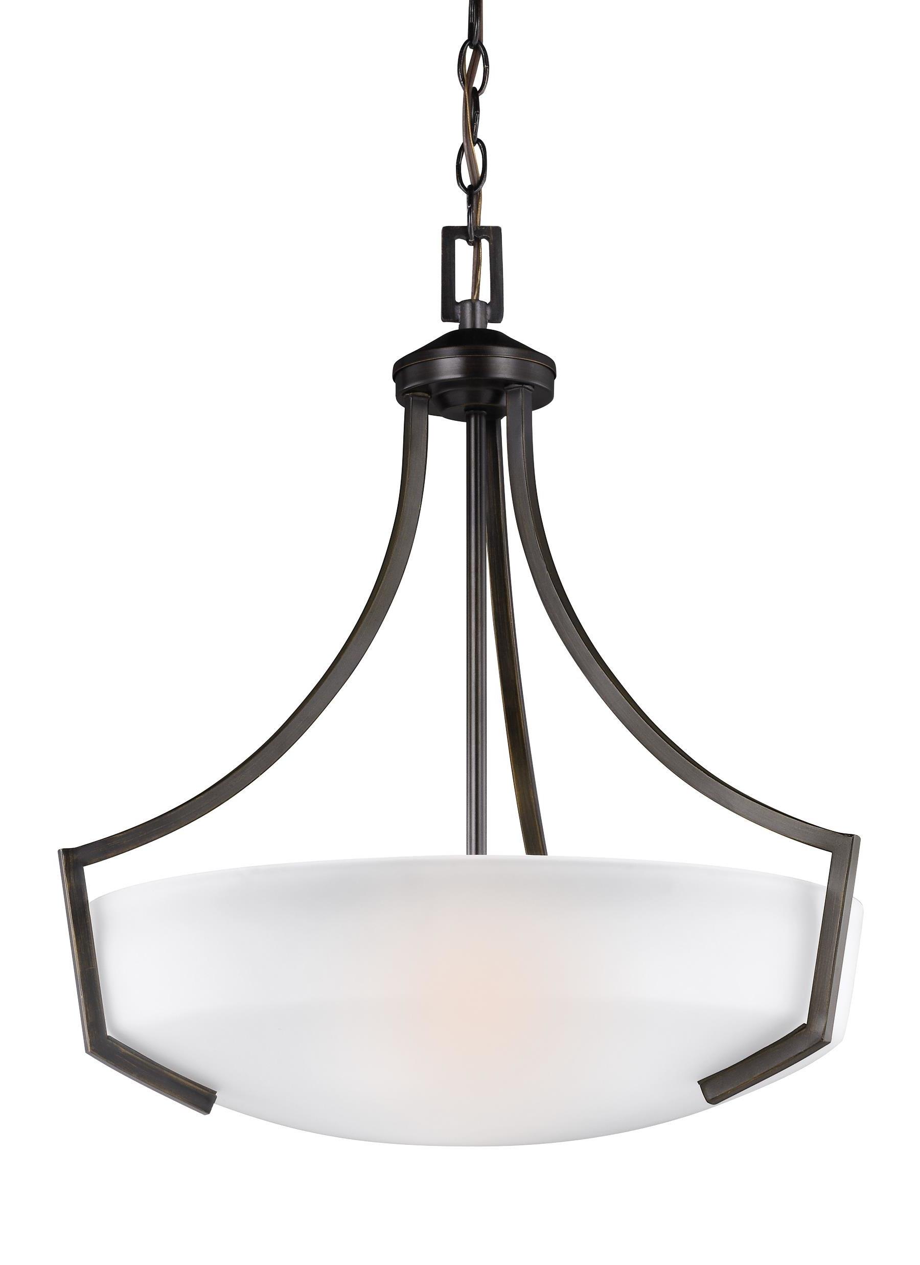 Elkton 3-Light Bowl Pendant regarding Well-liked Newent 3-Light Single Bowl Pendants