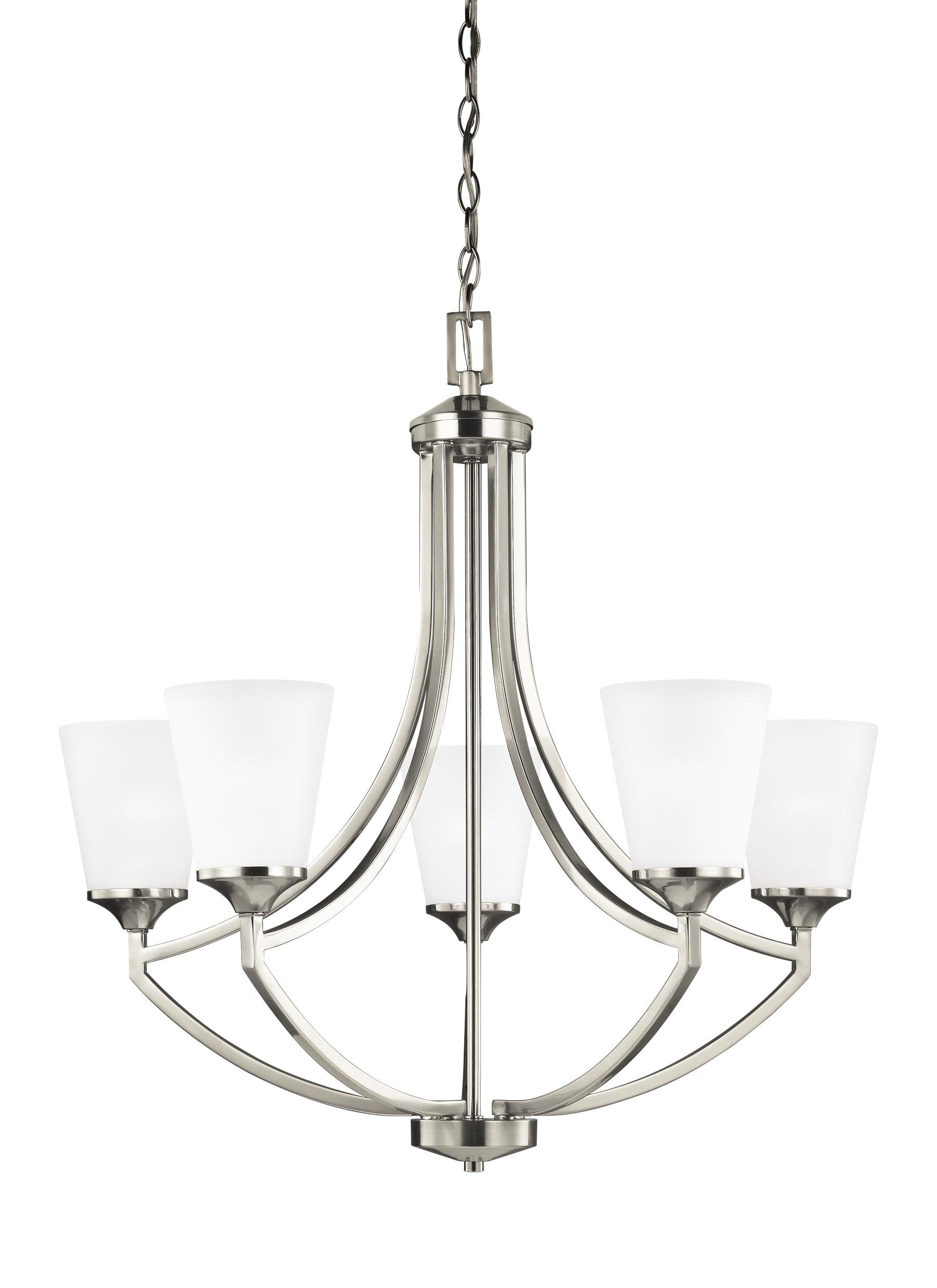 Elkton 5-Light Shaded Chandelier in Latest Crofoot 5-Light Shaded Chandeliers