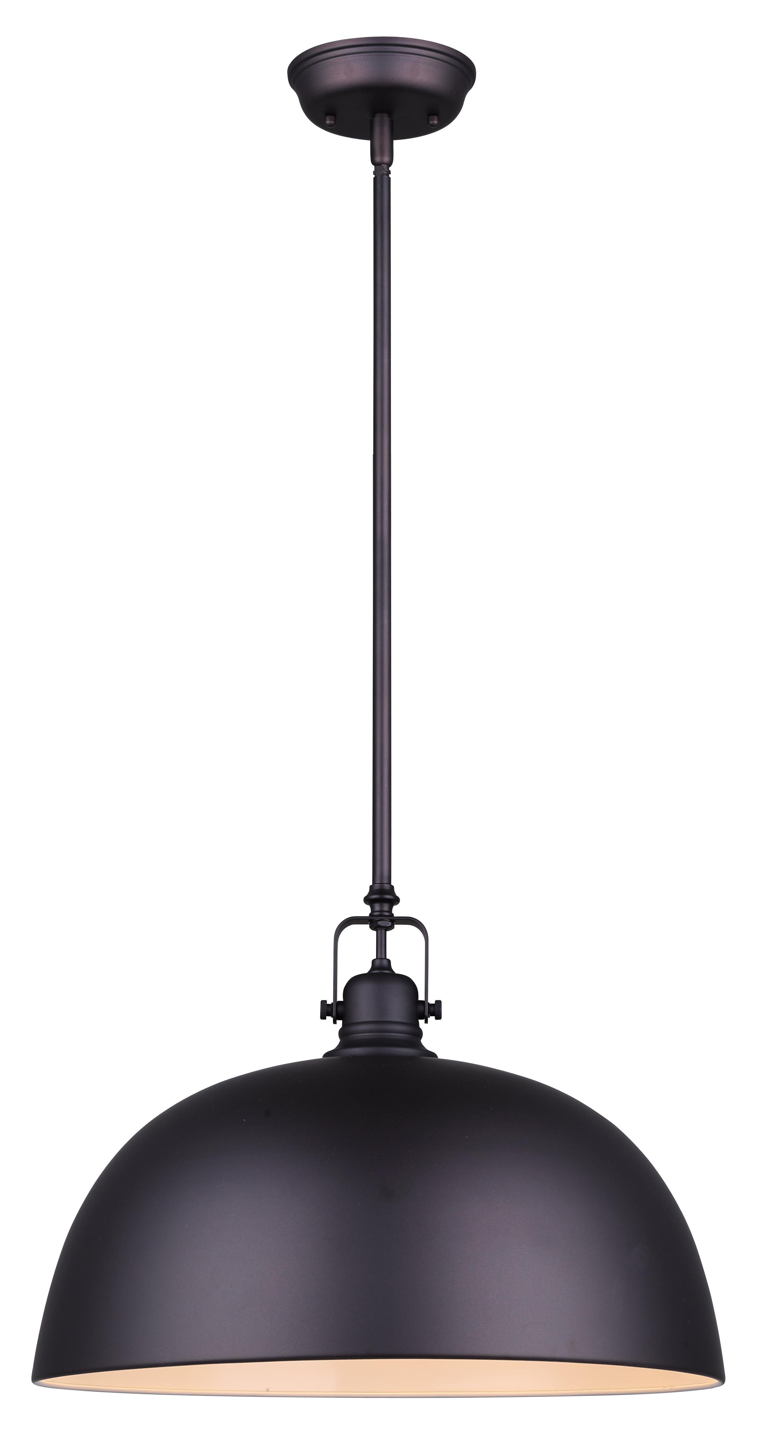 Emaria 3-Light Single Drum Pendants pertaining to Latest Southlake 1-Light Single Dome Pendant