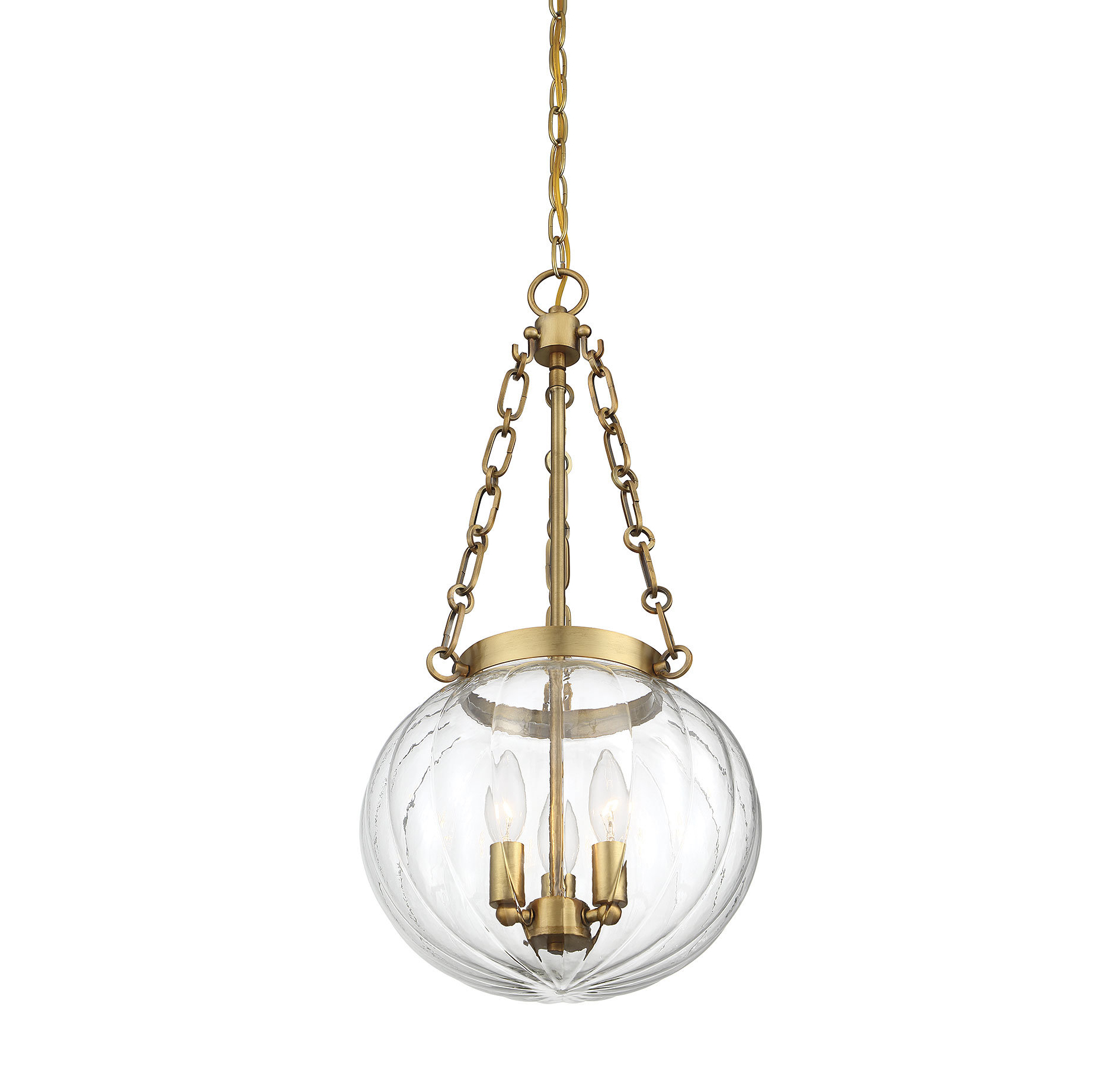 Emrick 3-Light Single Globe Pendant inside Best and Newest Kilby 1-Light Pendants
