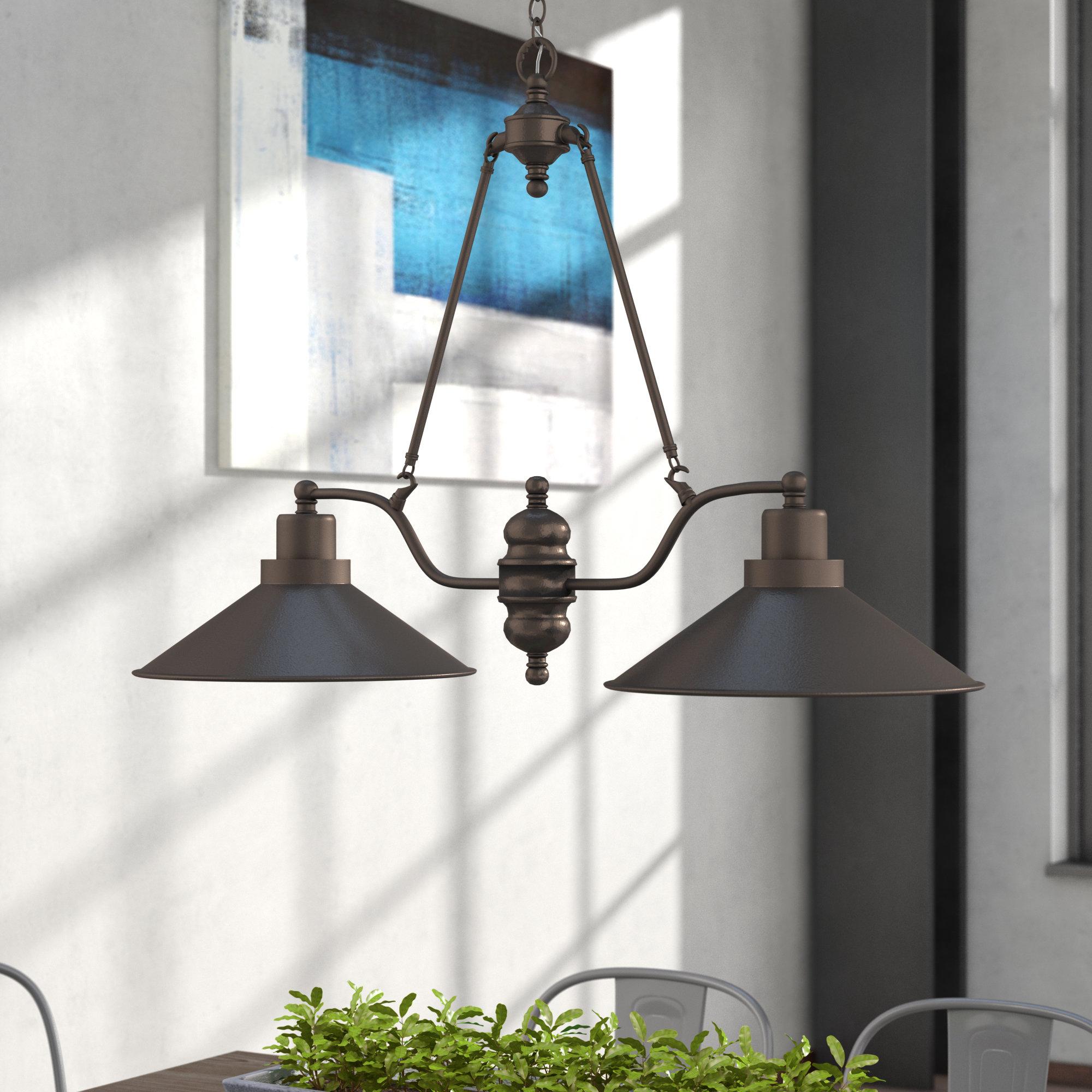 Featured Photo of Euclid 2 Light Kitchen Island Linear Pendants