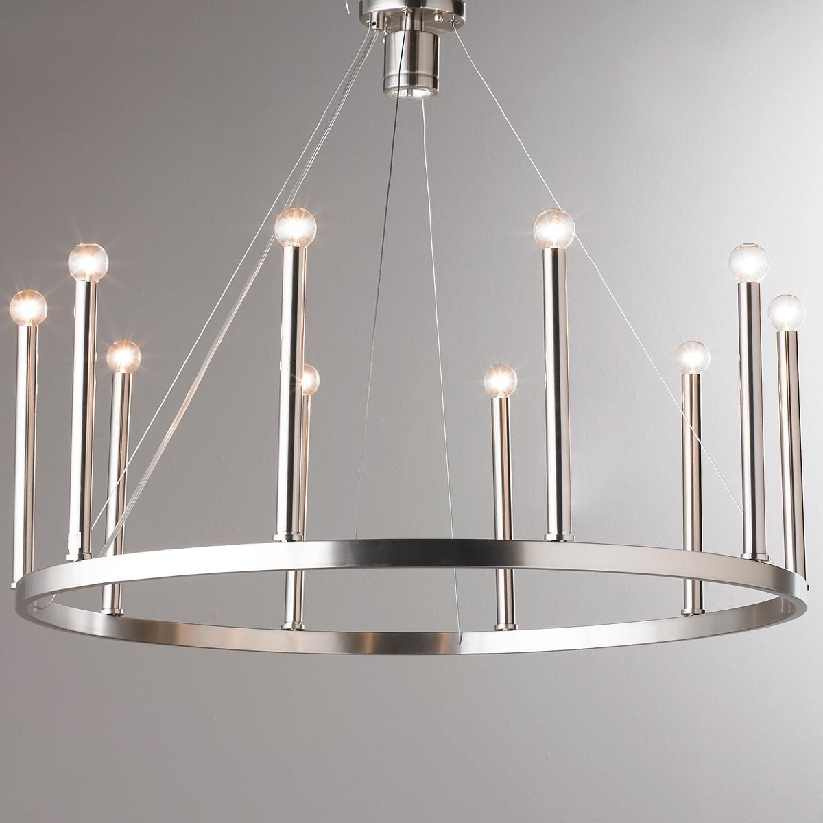 Euro Modern Candelabra Chandelier – 11 Light (View 16 of 25)