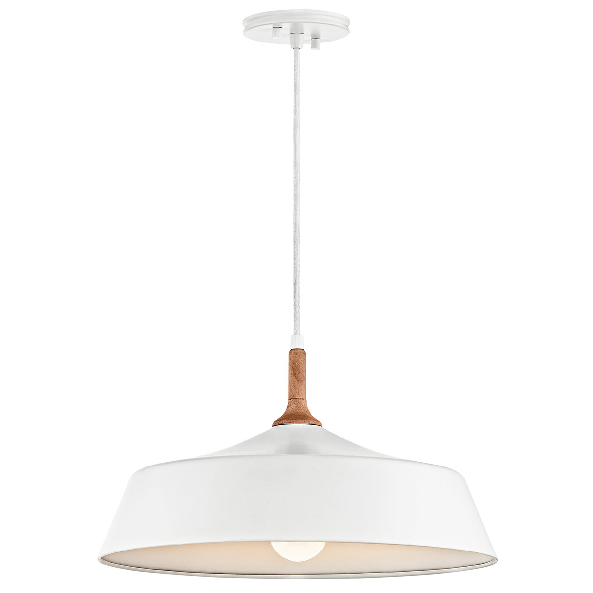 Evelyn 1 Light Single Dome Pendant For Popular 1 Light Single Dome Pendants (Gallery 9 of 25)