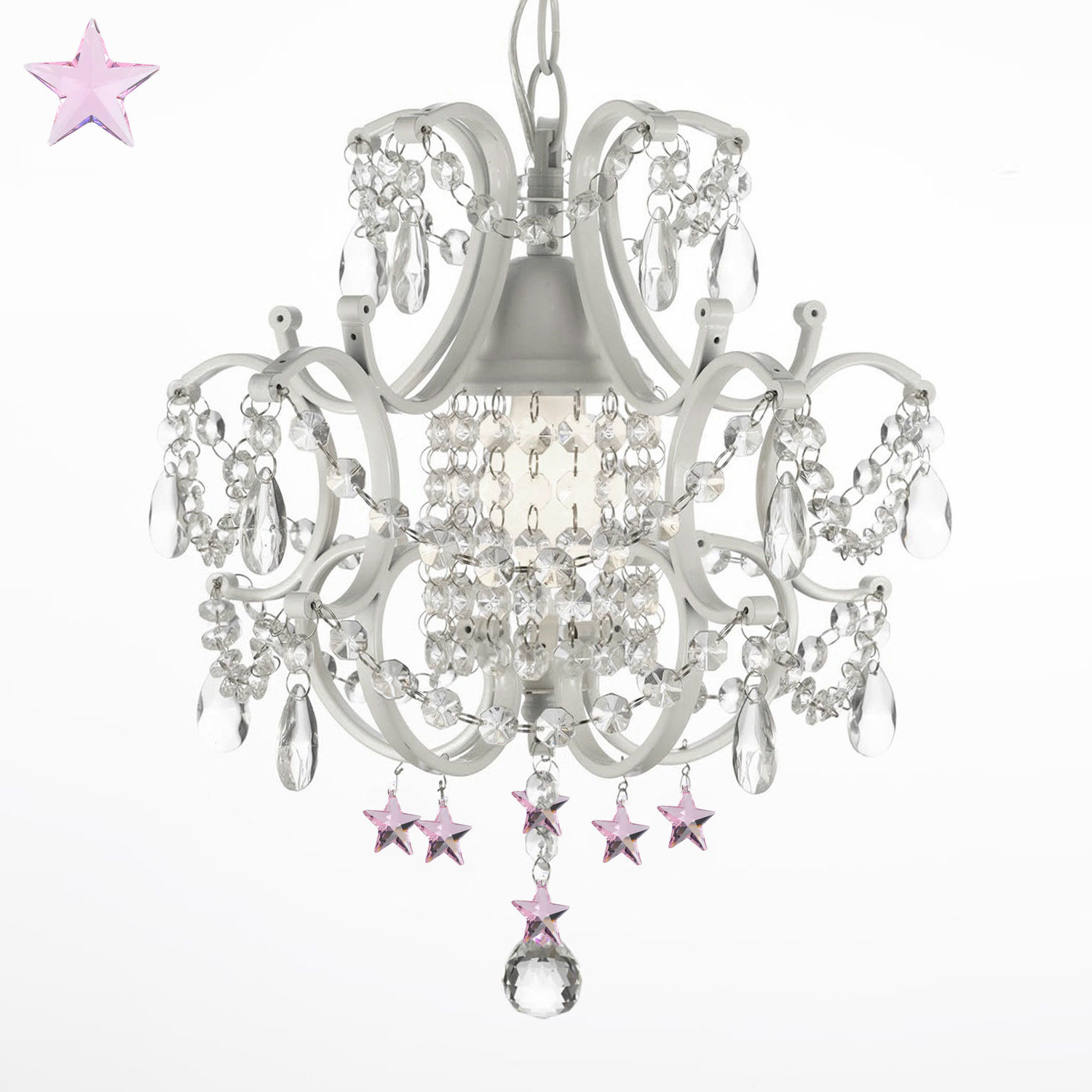 Evon 1-Light Led Crystal Pendant for Well-liked Dilley 1-Light Unique / Statement Geometric Pendants