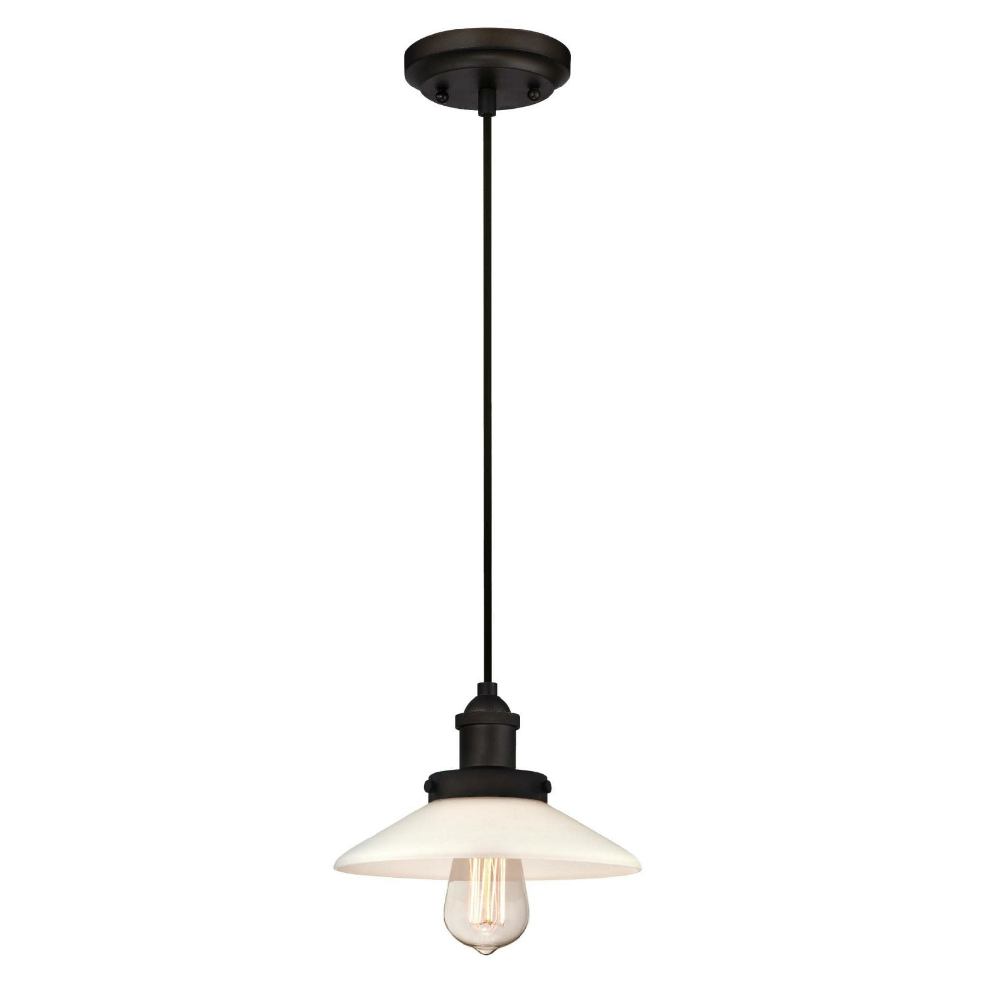 Famous Cinchring 1 Light Cone Pendants Throughout Darcella 1 Light Single Cone Pendant (View 10 of 25)
