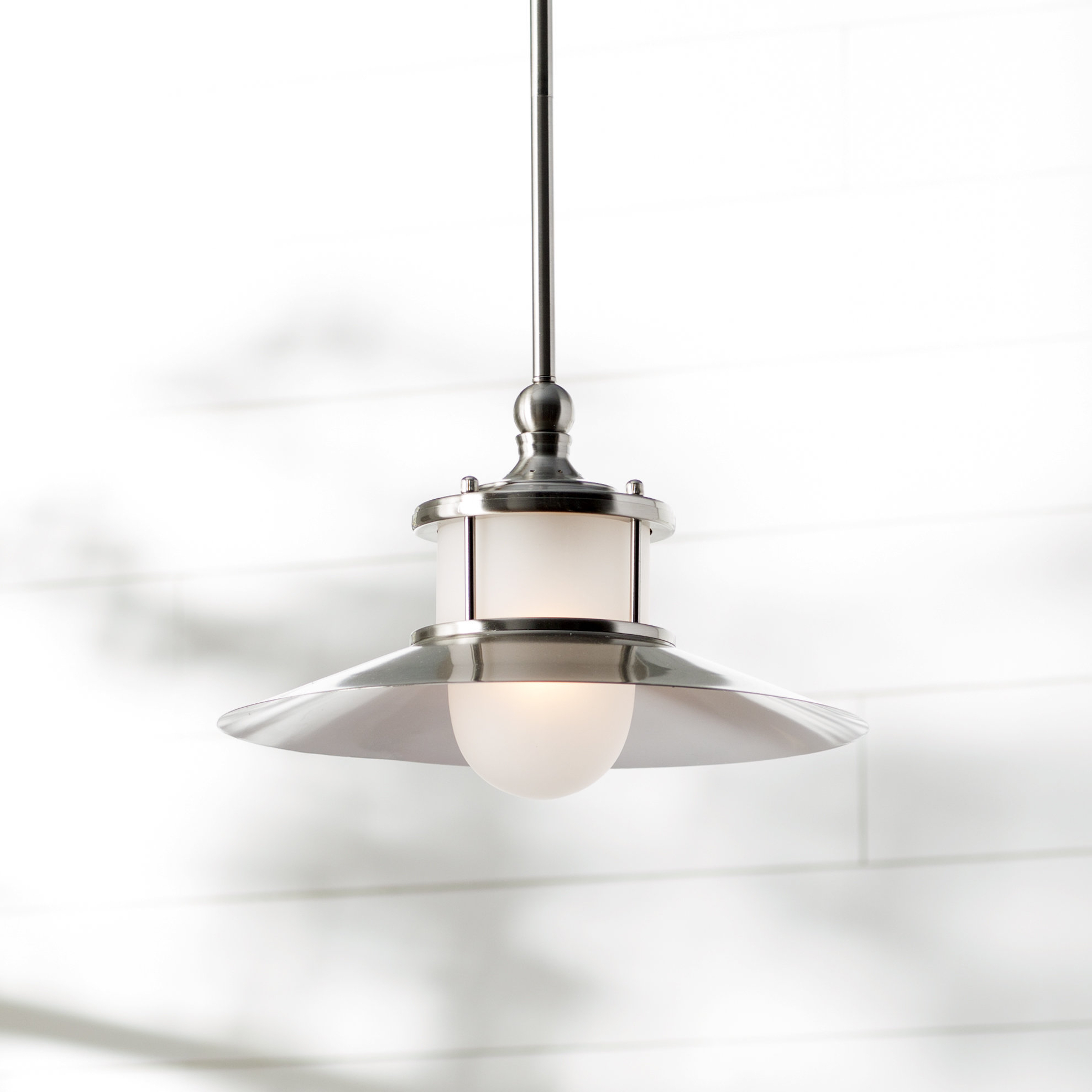 Famous Cinchring 1 Light Cone Pendants Throughout Salley 1 Light Single Cone Pendant (View 11 of 25)