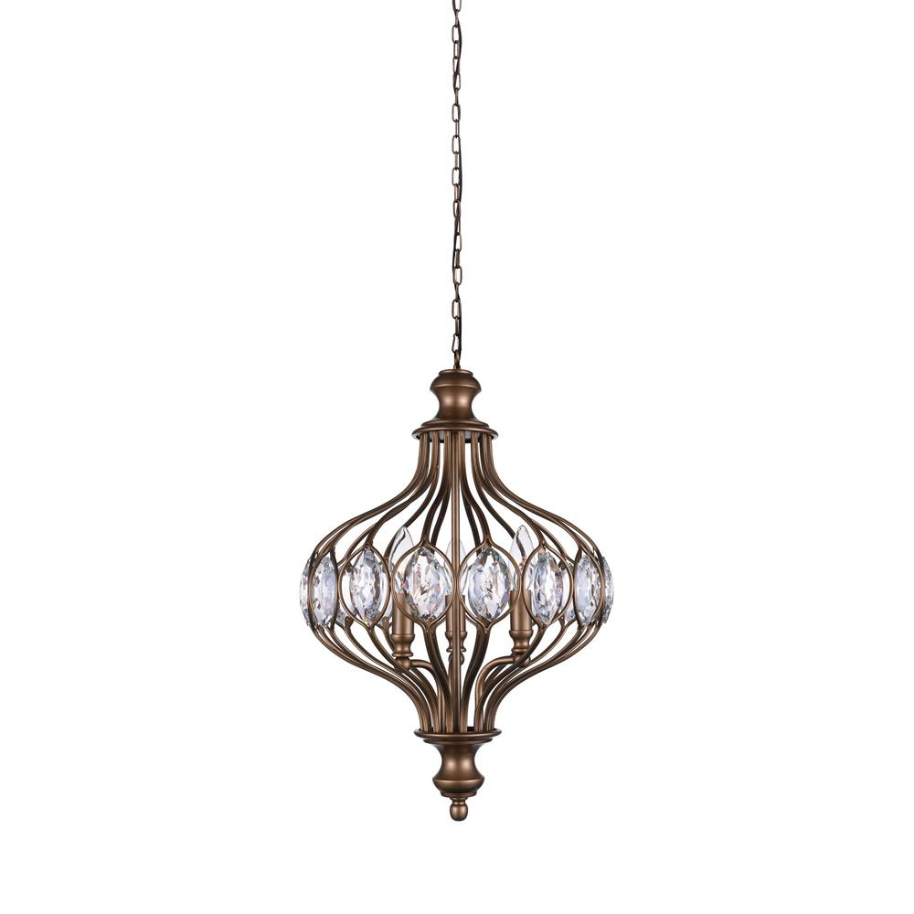 Famous Cwi Lighting Altair 6 Light Antique Bronze Chandelier Pertaining To Donna 6 Light Globe Chandeliers (View 11 of 25)
