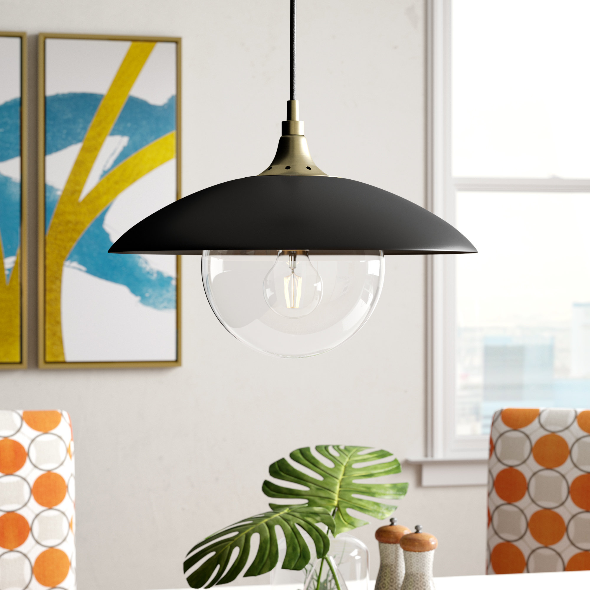 Famous Deveraux 1 Light Single Dome Pendant In Conover 1 Light Dome Pendants (View 9 of 25)