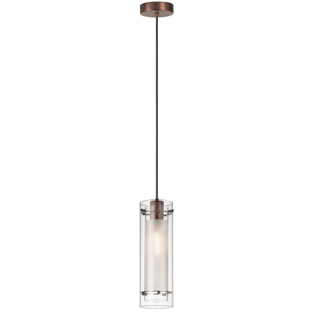 Famous Fennia 1 Light Single Cylinder Pendant Pertaining To Callington 1 Light Led Single Geometric Pendants (View 6 of 25)