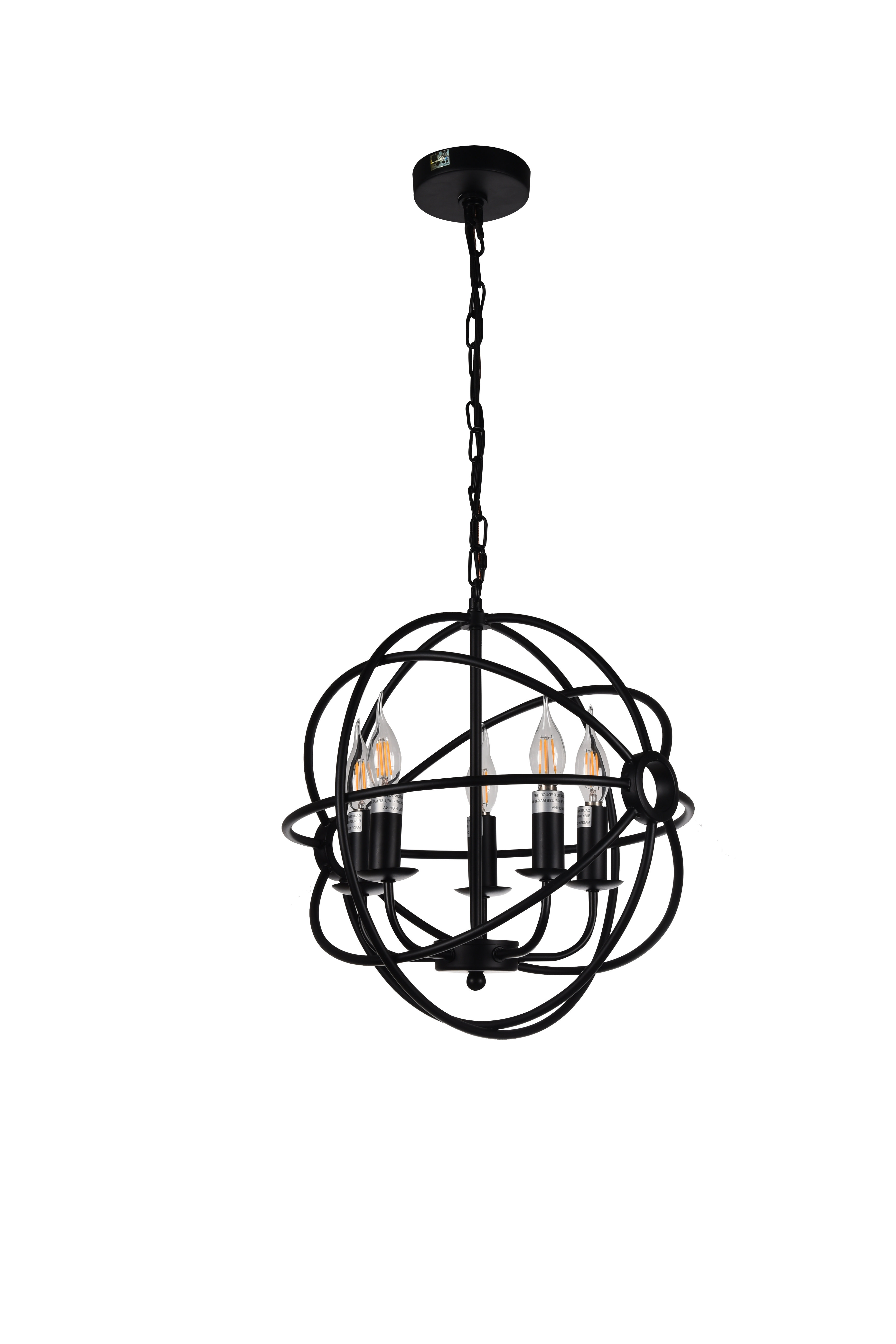 Famous Gaffney 5 Light Globe Chandelier Pertaining To Shipststour 3 Light Globe Chandeliers (View 15 of 25)