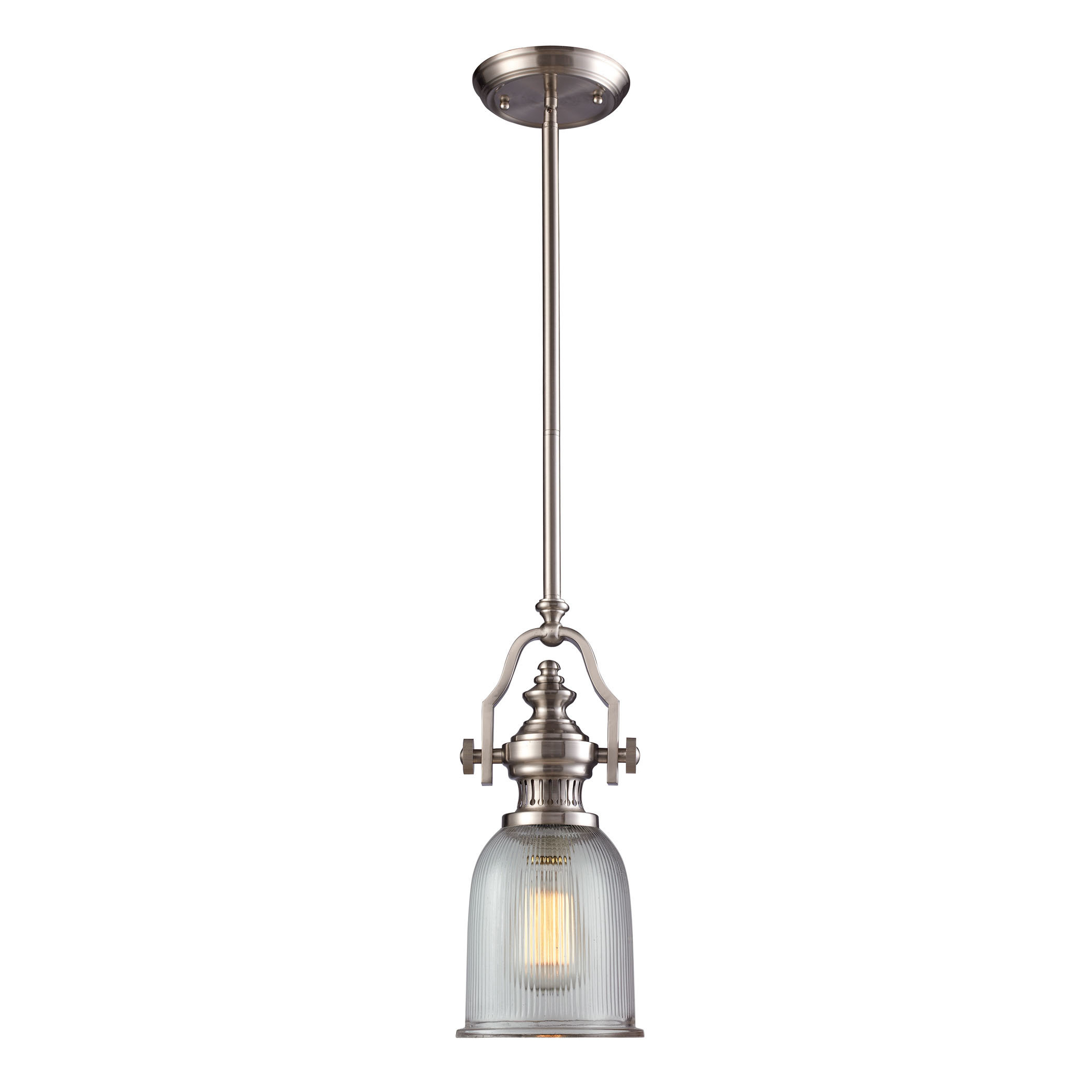 Famous Grullon Scroll 1 Light Single Bell Pendants With Birch Lane™ Heritage Erico 1 Light Single Bell Pendant (View 6 of 25)