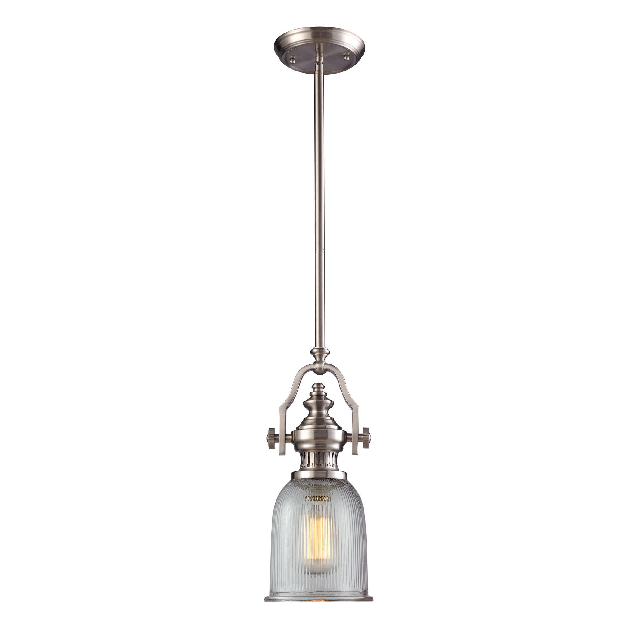 Famous Grullon Scroll 1 Light Single Bell Pendants With Birch Lane™ Heritage Erico 1 Light Single Bell Pendant (View 7 of 25)