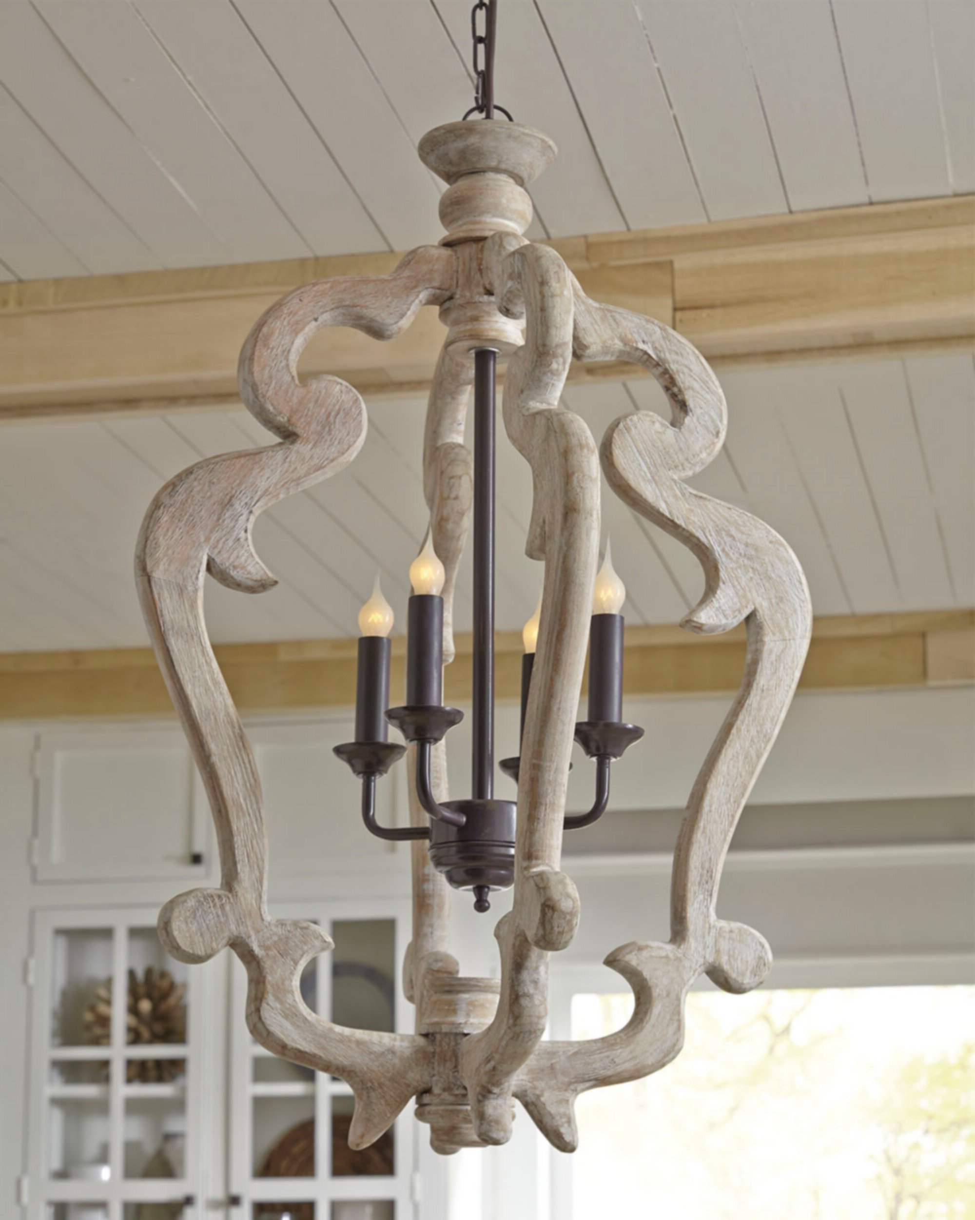 Famous Montigny 4 Light Foyer Pendant For Oriana 4 Light Single Geometric Chandeliers (View 7 of 25)