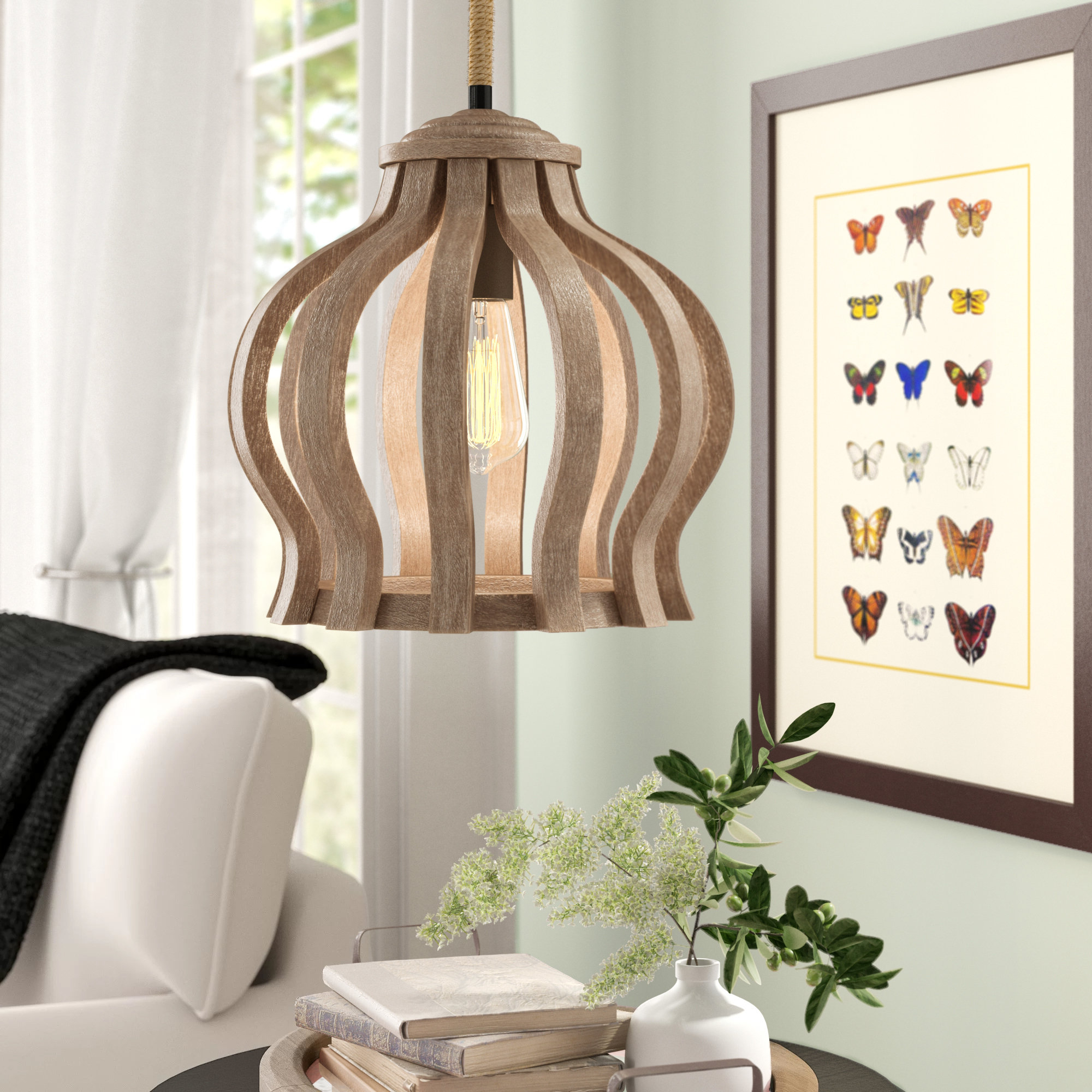 Famous Reclaimed Wood Pendant Light (View 6 of 25)