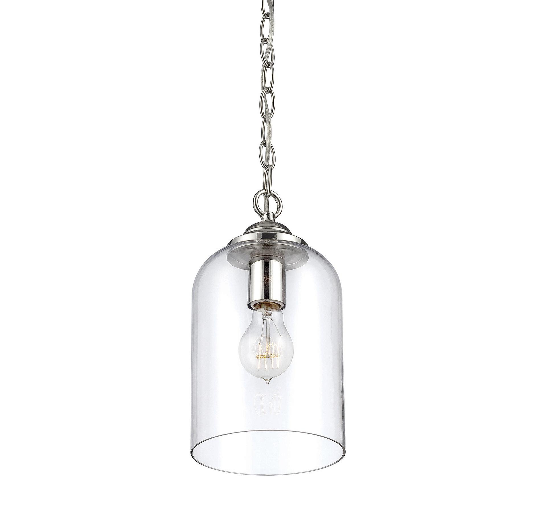Famous Silber 1 Light Single Bell Pendant Intended For Roslindale 1 Light Single Bell Pendants (View 10 of 25)