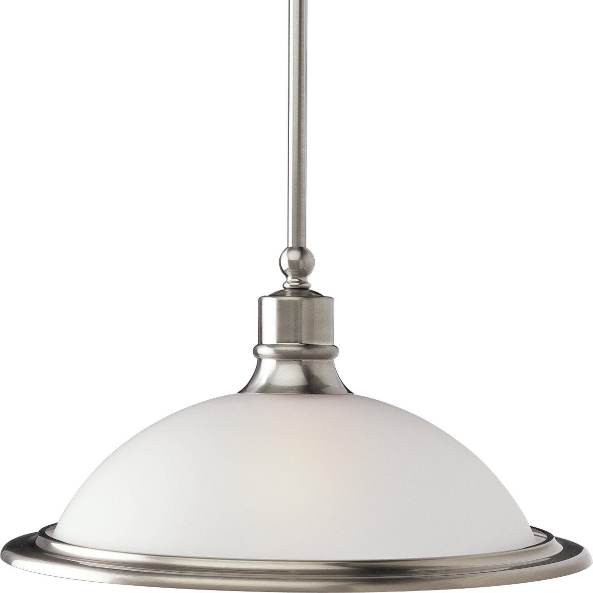 Famous Vangorder 1 Light Dome Pendant In Abernathy 1 Light Dome Pendants (View 3 of 25)