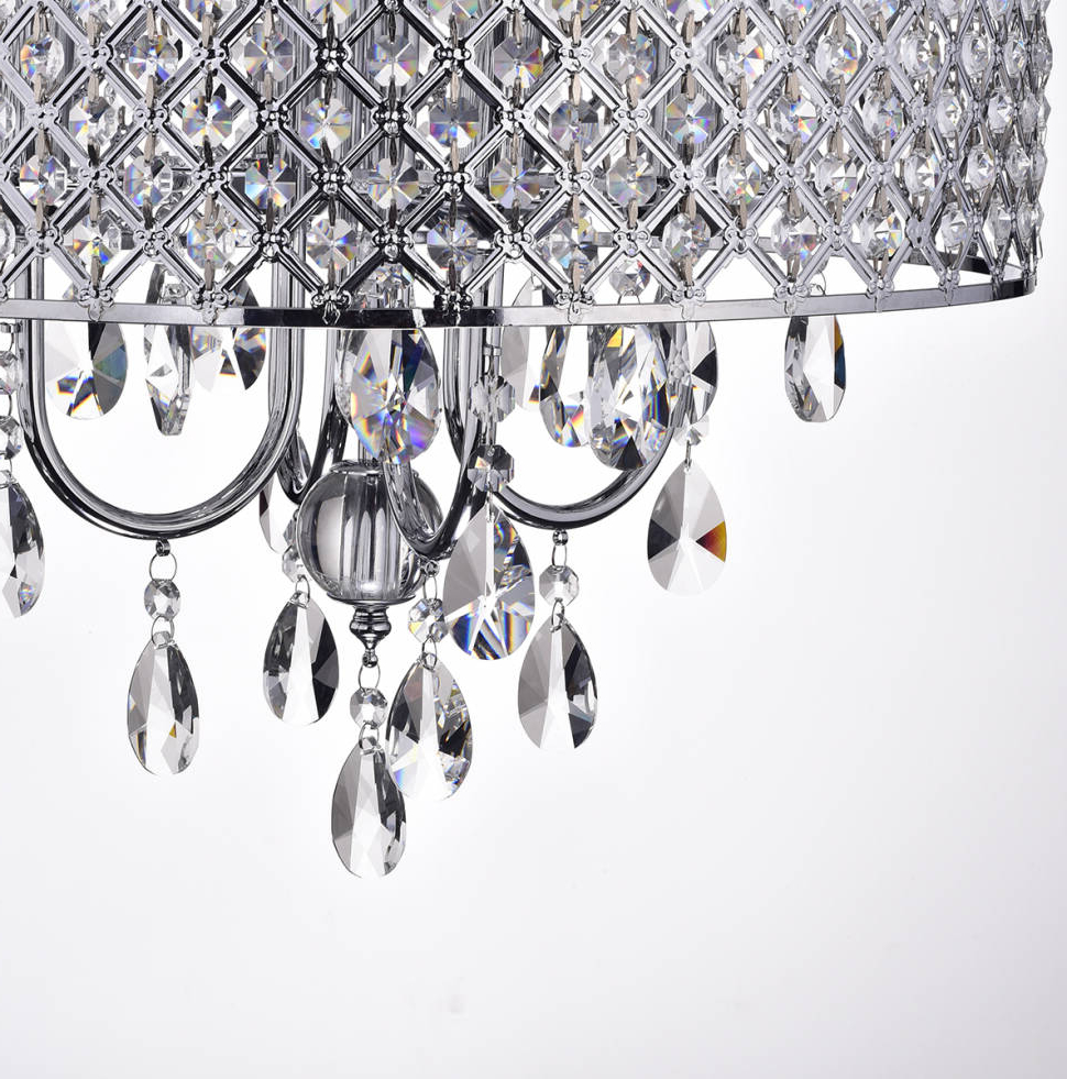 Famous Von 4 Light Crystal Chandelier Intended For Von 4 Light Crystal Chandeliers (View 7 of 25)