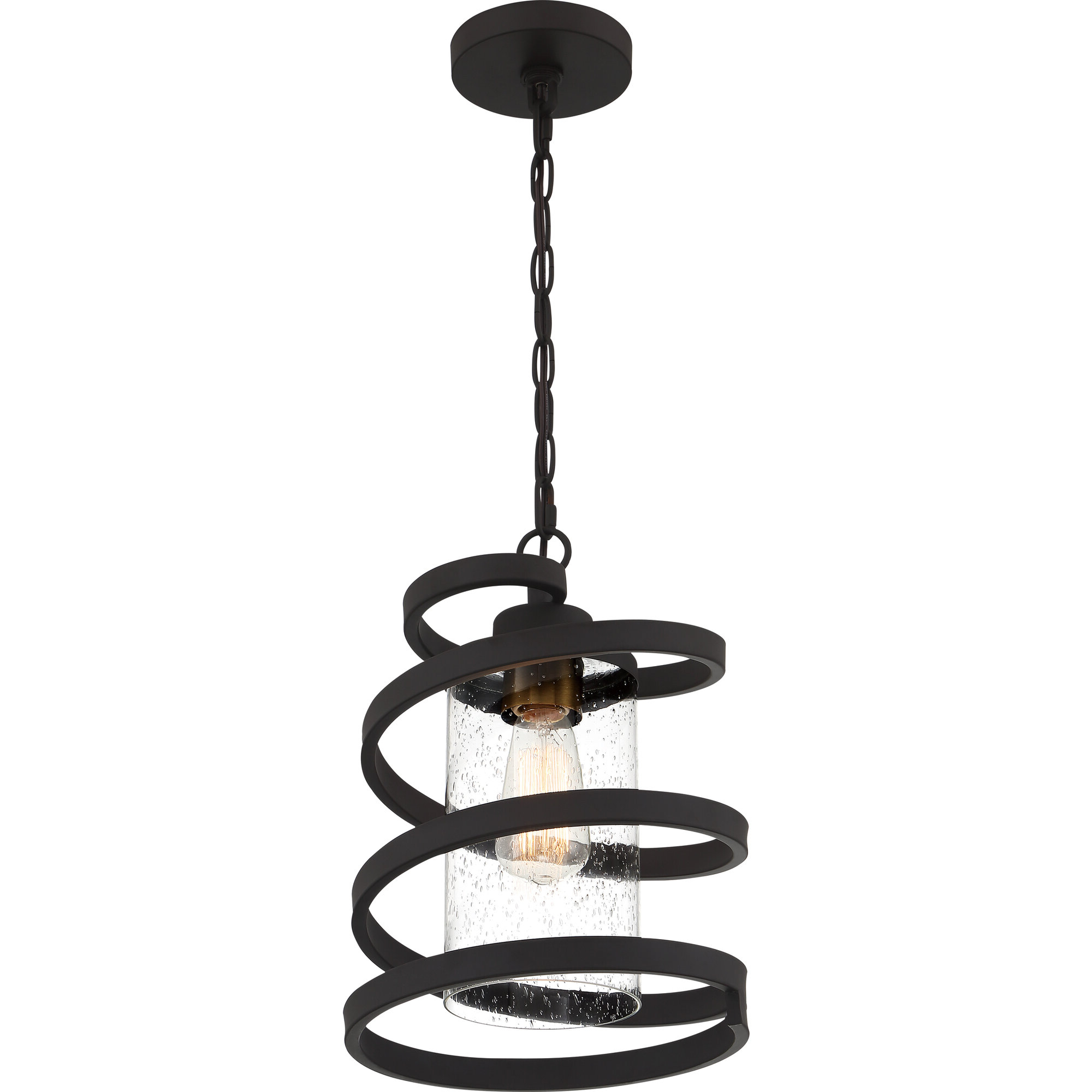 Fashionable Angelina 1 Light Single Cylinder Pendants Within Details About Ivy Bronx Odis 1 Light Geometric Pendant (View 14 of 25)