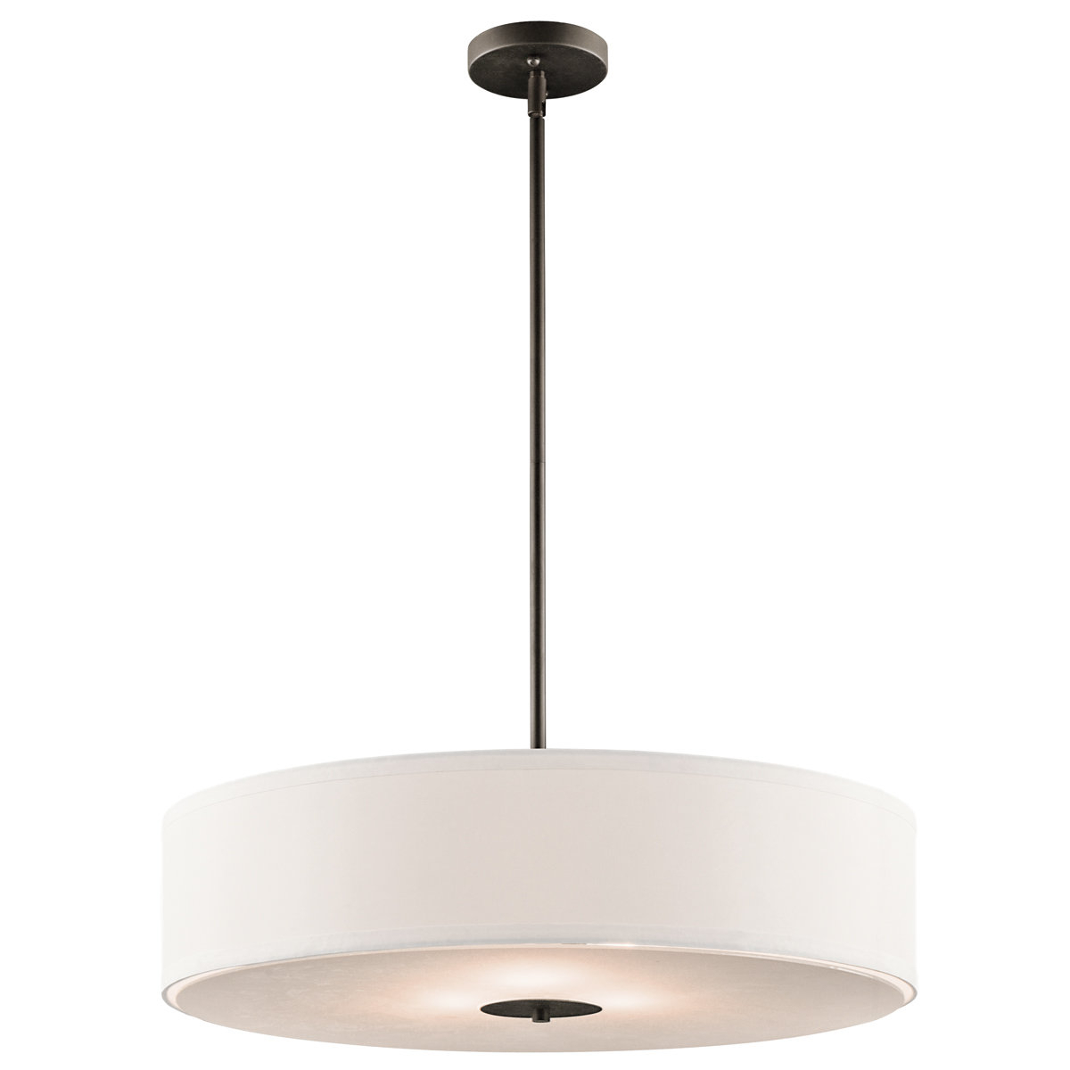 Fashionable Boyer 3 Light Drum Chandelier Inside Kasey 3 Light Single Drum Pendants (View 6 of 25)