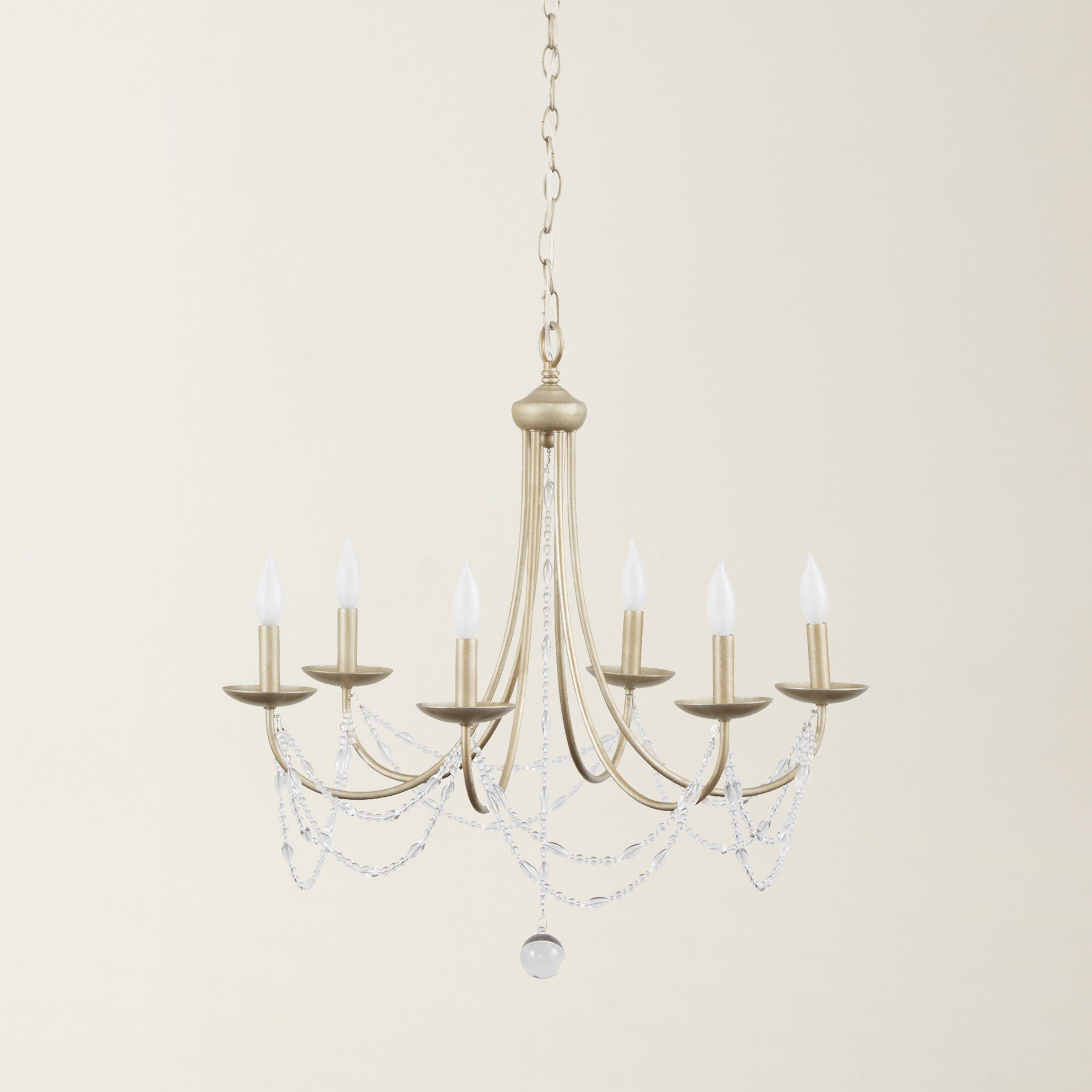 Fashionable Diaz 6 Light Candle Style Chandeliers For Nantucket 6 Light Candle Style Chandelier (View 15 of 25)