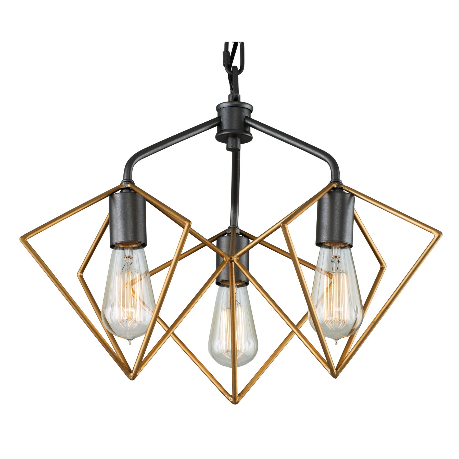 Fashionable Hewitt 4 Light Square Chandeliers Throughout Varaluz Metropolis 261P03Agrb Pendant Light – 261P03Agrb (View 11 of 25)