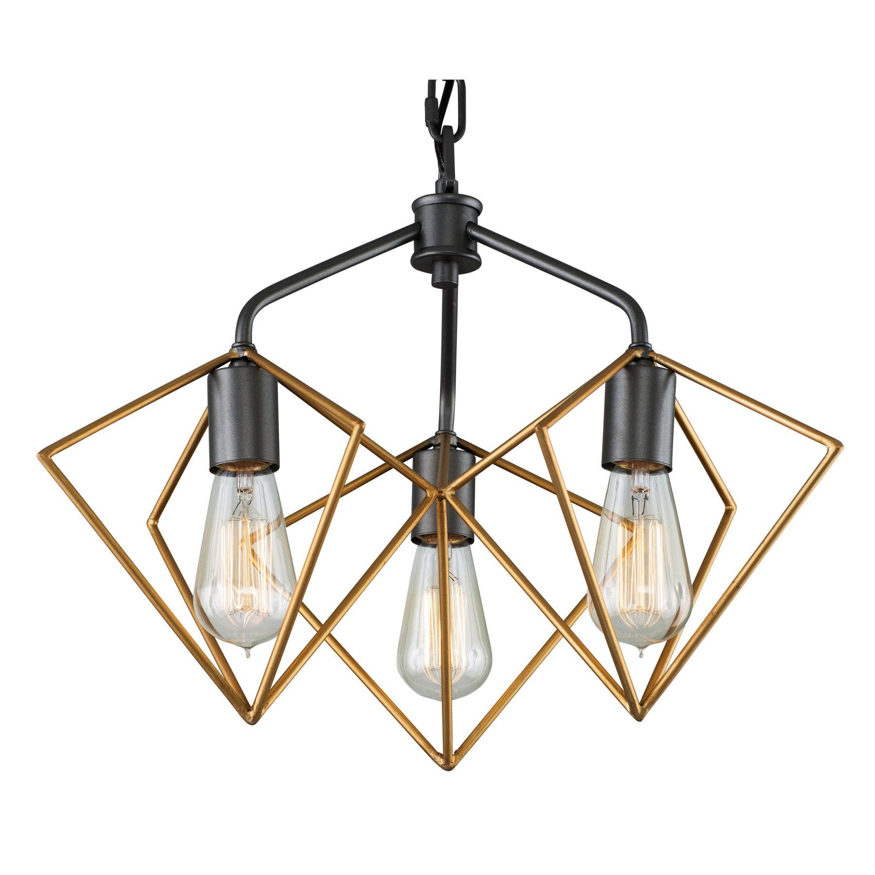 Fashionable Hewitt 4 Light Square Chandeliers Throughout Varaluz Metropolis 261P03Agrb Pendant Light – 261P03Agrb (View 11 of 25)