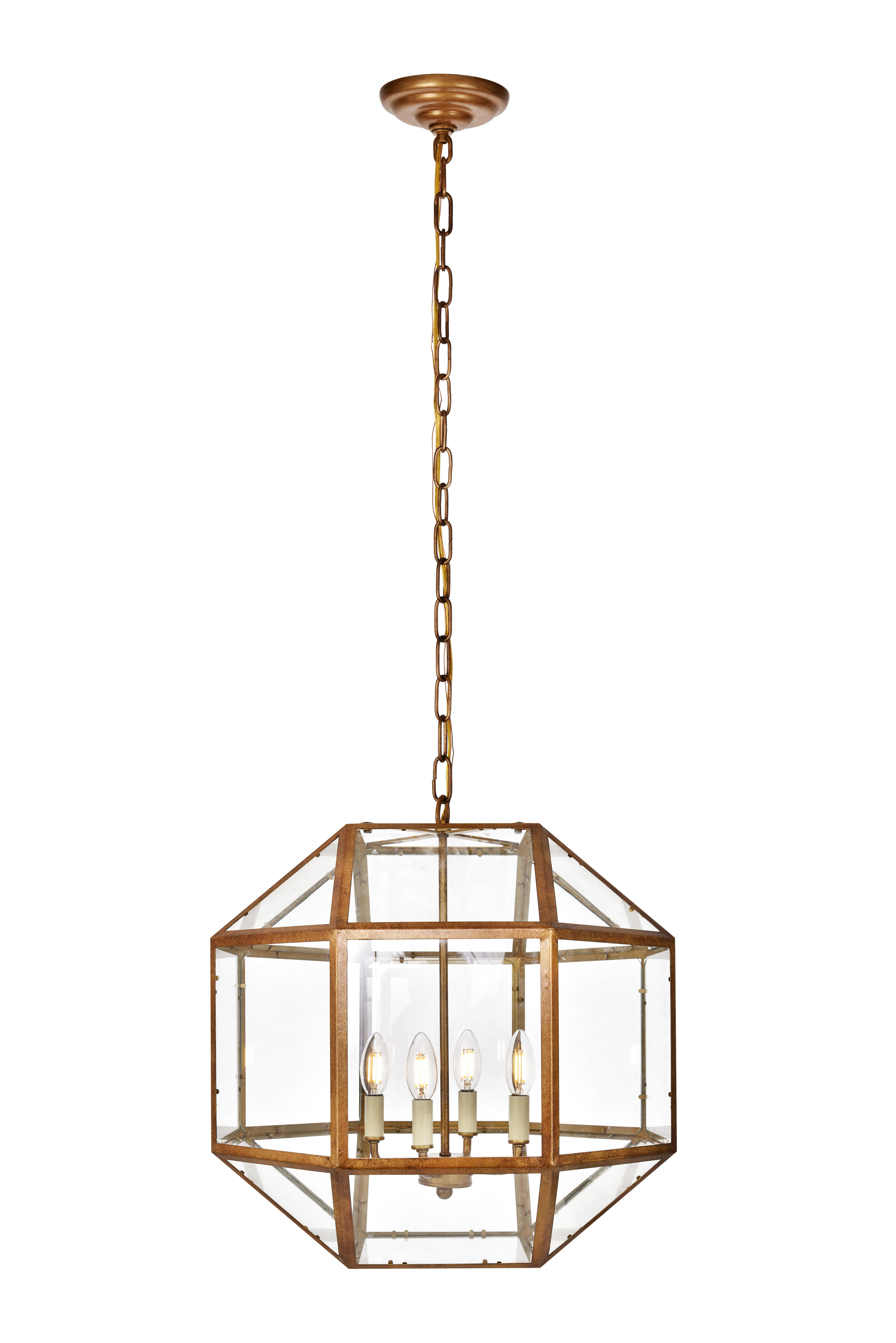 Fashionable Ivy Bronx Burkeville 4 Light Geometric Chandelier With Regard To Tabit 5 Light Geometric Chandeliers (View 25 of 25)