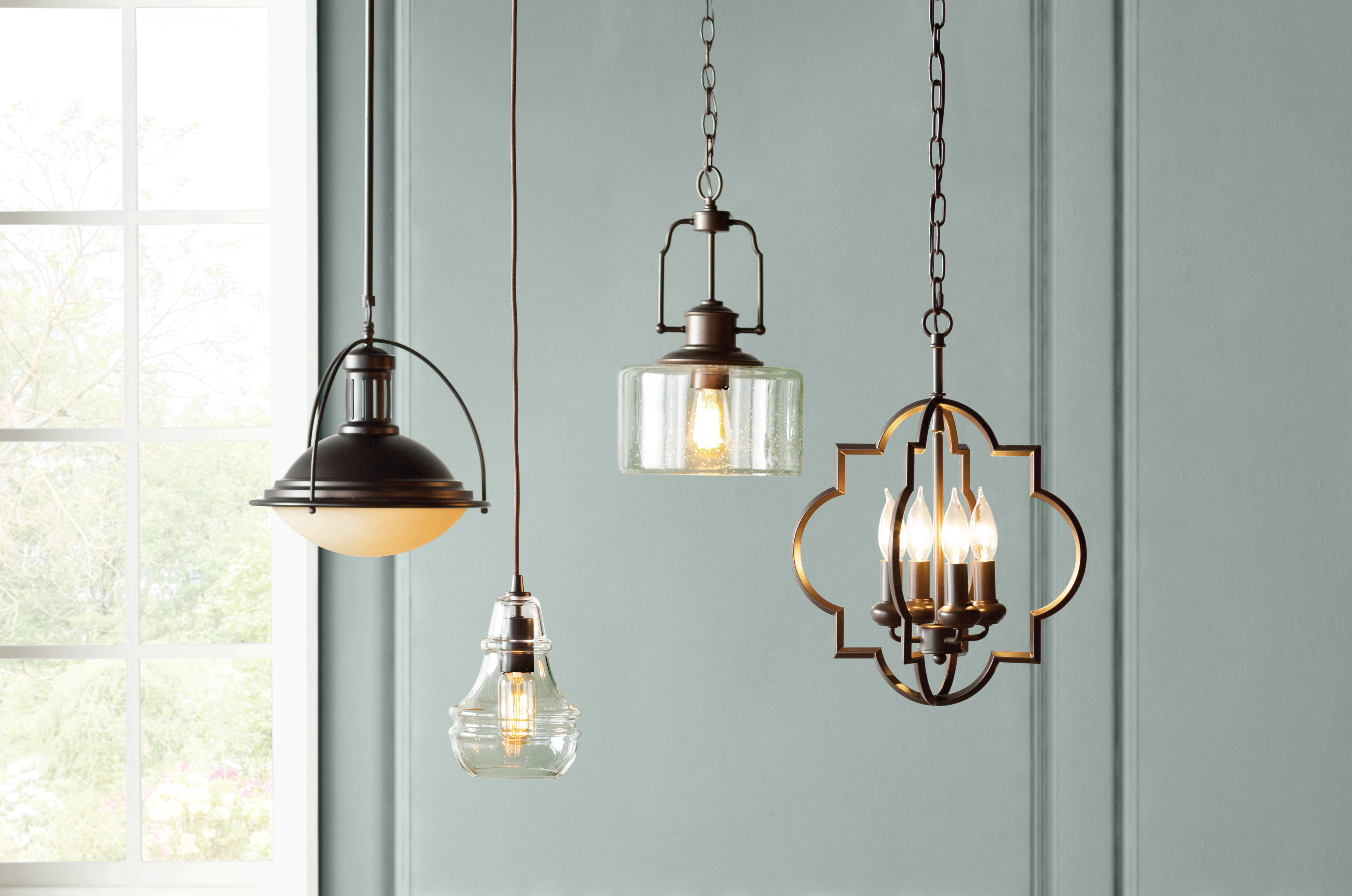 Fashionable Kaycee 4 Light Geometric Chandeliers Throughout Hartley 4 Light Geometric Pendant (View 9 of 25)